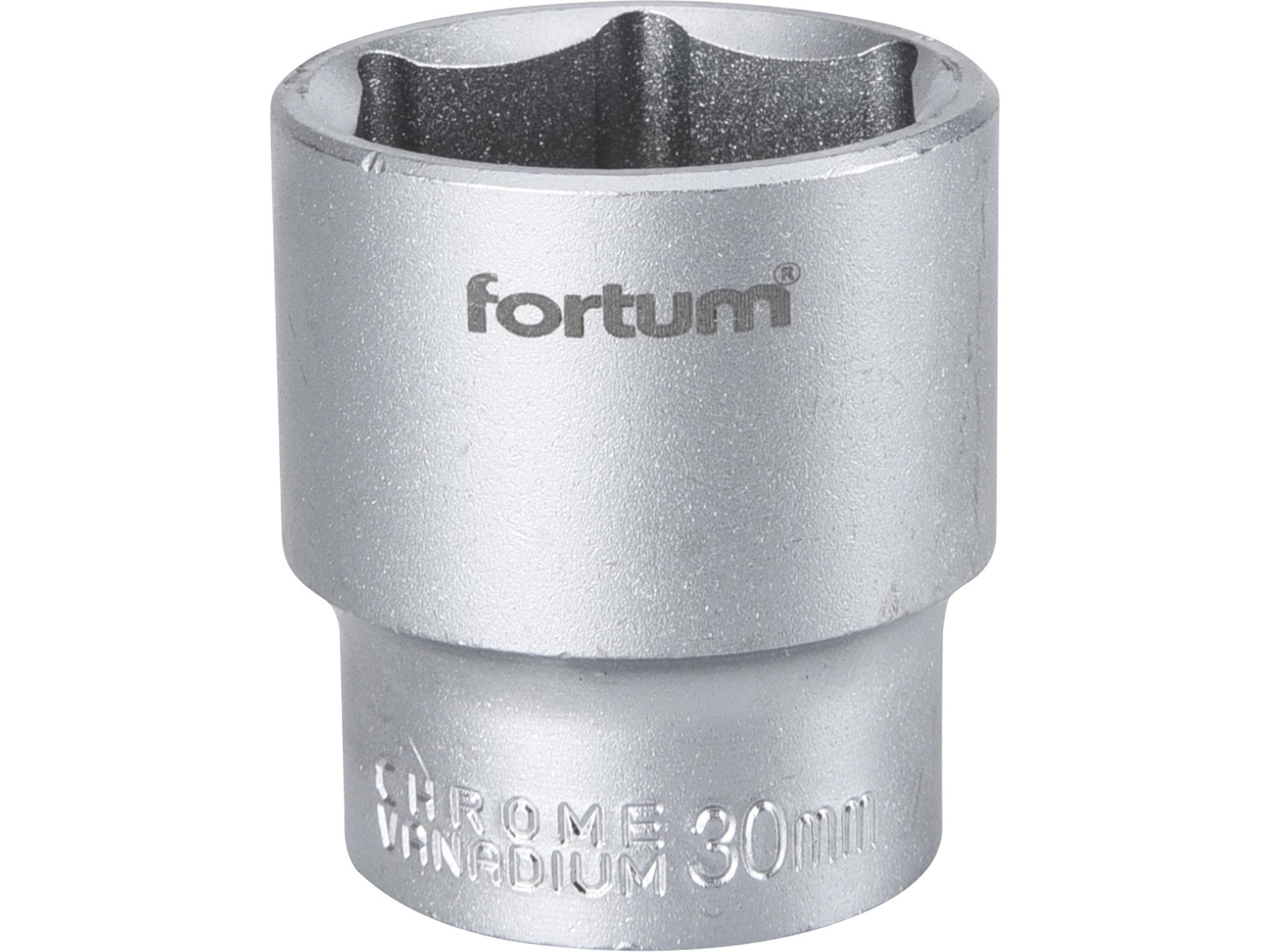 """hlavice nástrčná, 1/2"""", 30mm, L 44mm, FORTUM 4700430"""