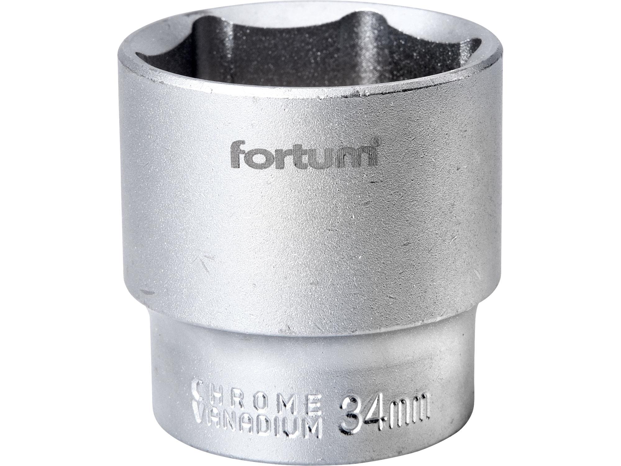"""hlavice nástrčná, 1/2"""", 34mm, L 44mm, FORTUM 4700434"""