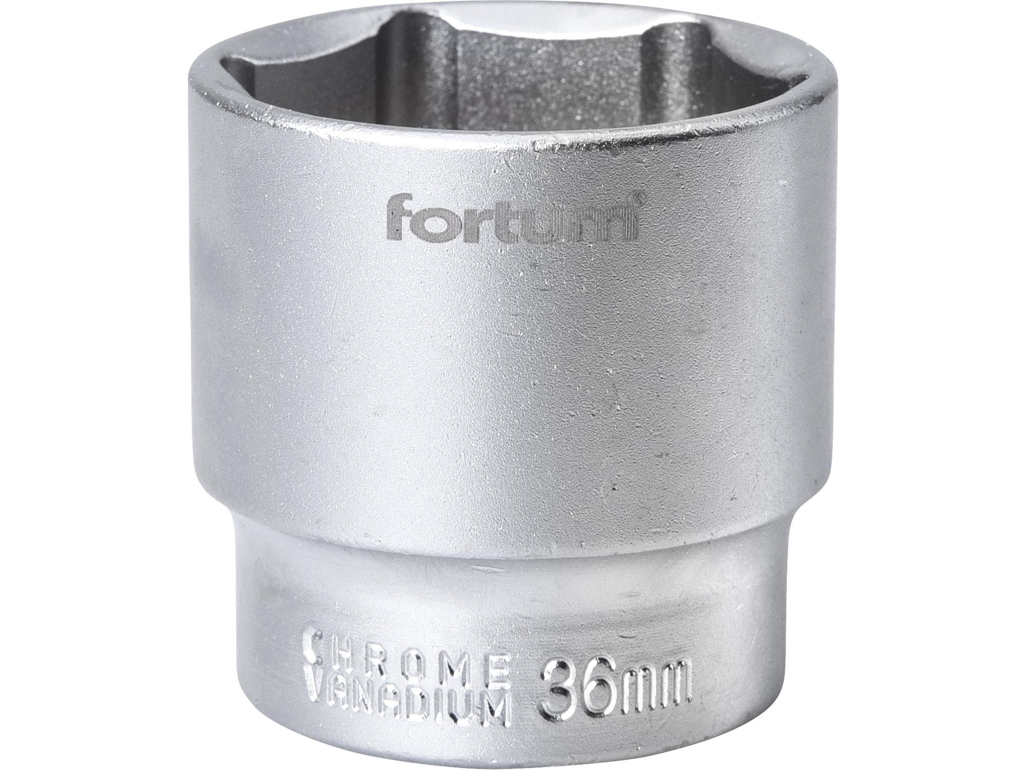 """hlavice nástrčná, 1/2"""", 36mm, L 45mm, FORTUM 4700436"""