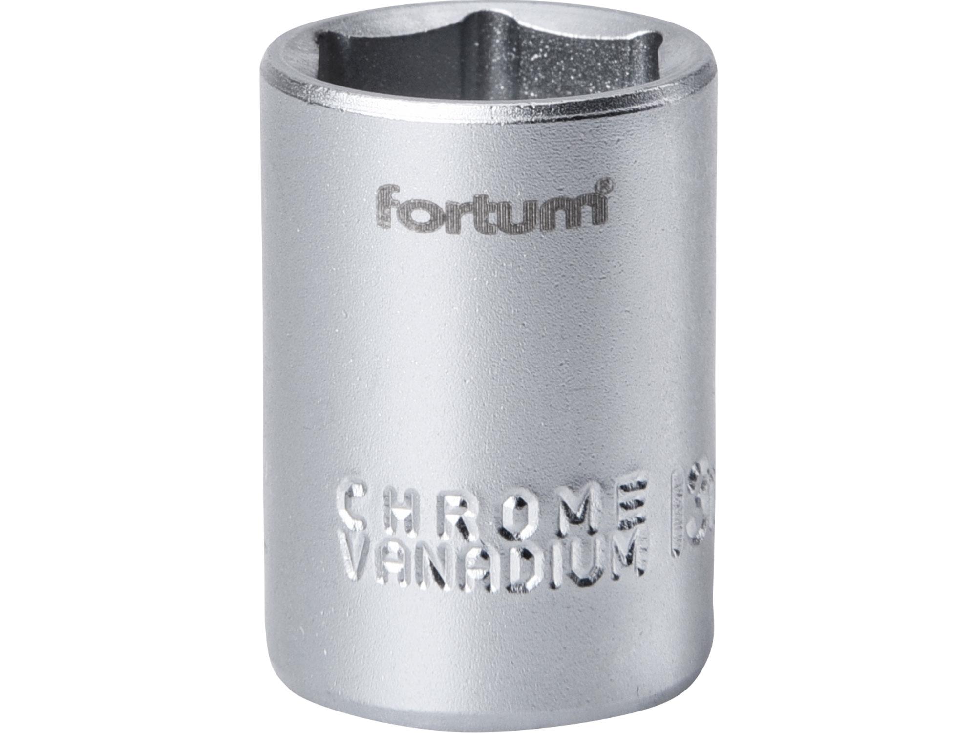 """hlavice nástrčná, 1/4"""", 13mm, L 25mm, FORTUM 4701413"""
