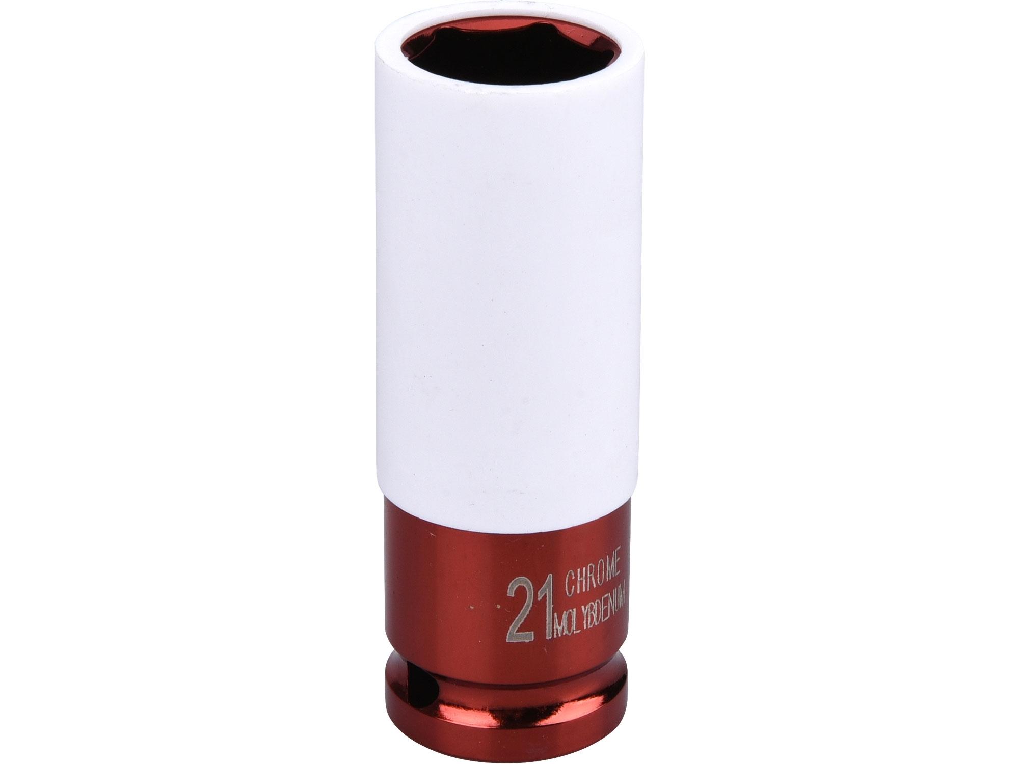 """hlavice nástrčná rázová 1/2"""", 21mm, L 86mm"""