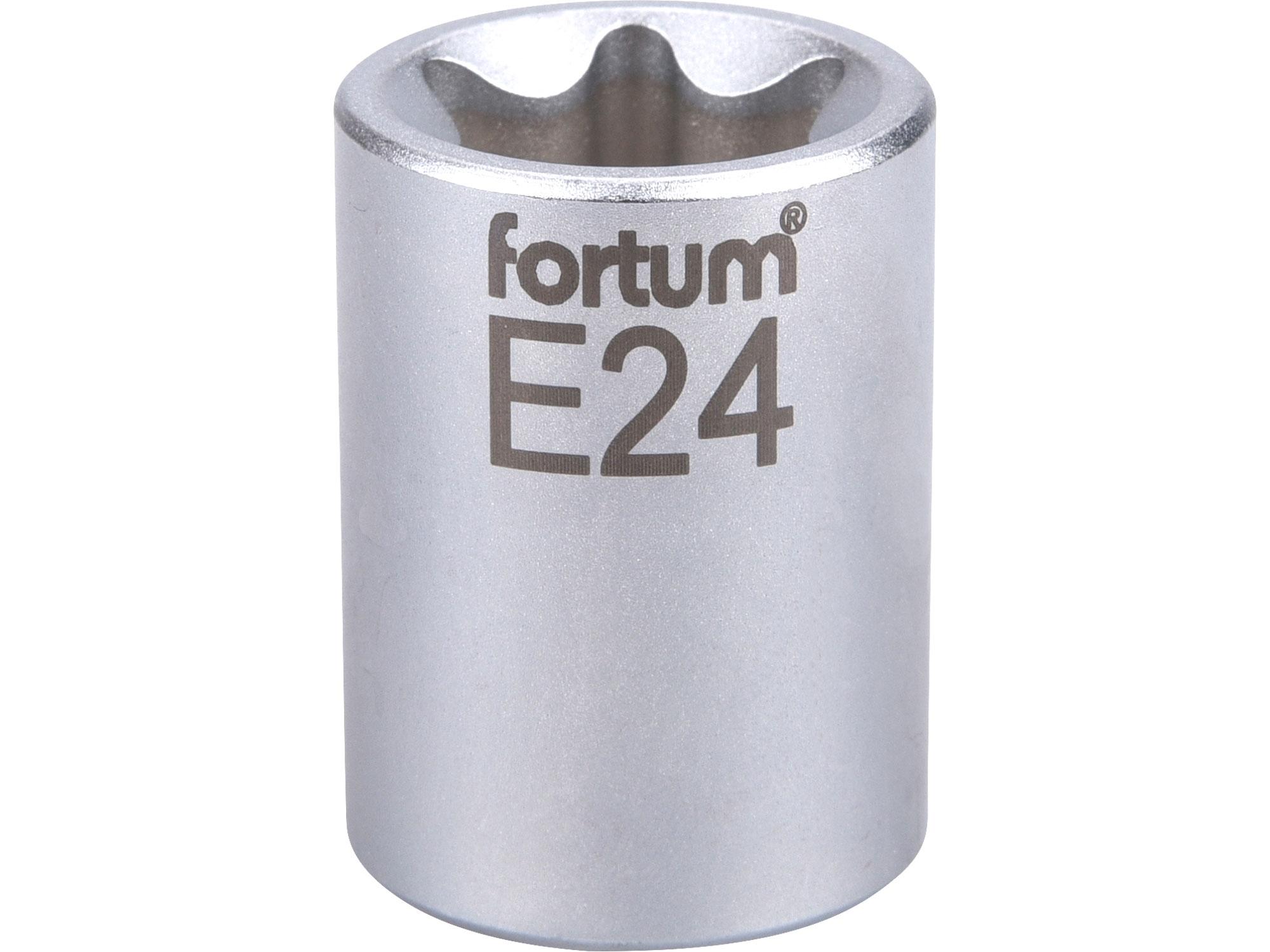 """hlavice nástrčná vnitřní TORX, 1/2"""", E 24, L 38mm, FORTUM 4700705"""