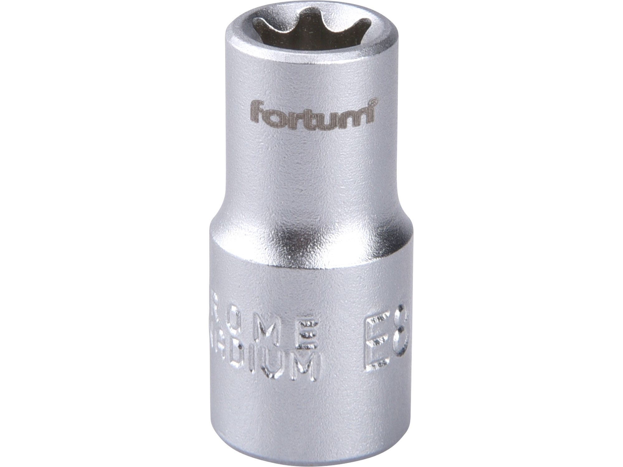 """hlavice nástrčná vnitřní TORX, 1/4"""", E 8, L 25mm, FORTUM 4701708"""