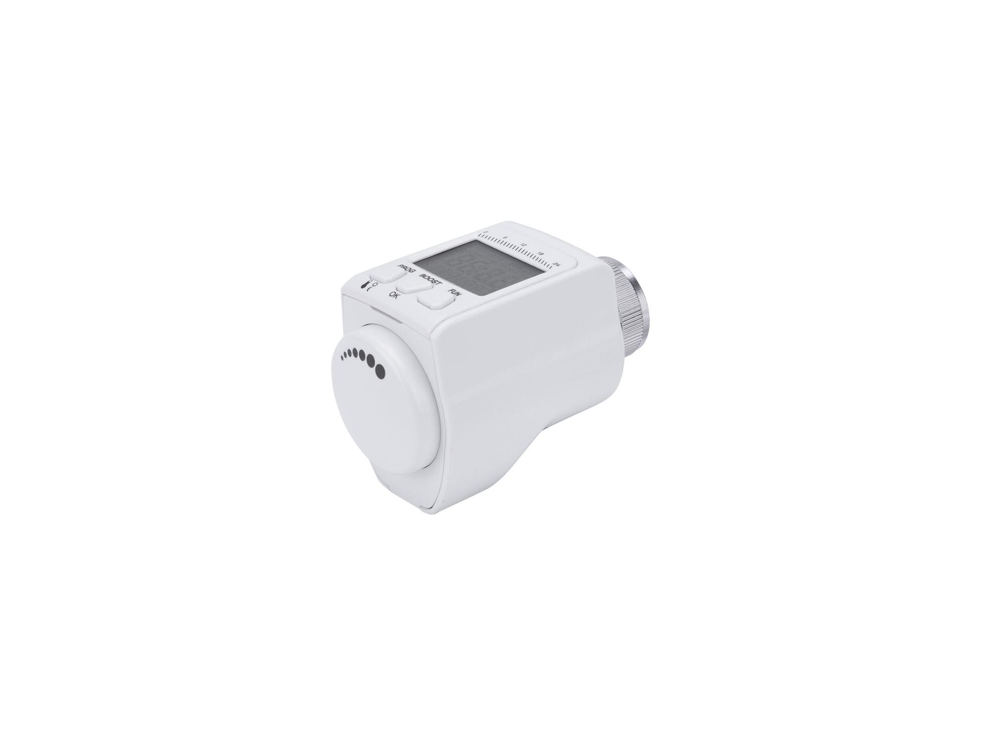 hlavice termostatická pro radiátor, programovatelná, EXTOL LIGHT 43830