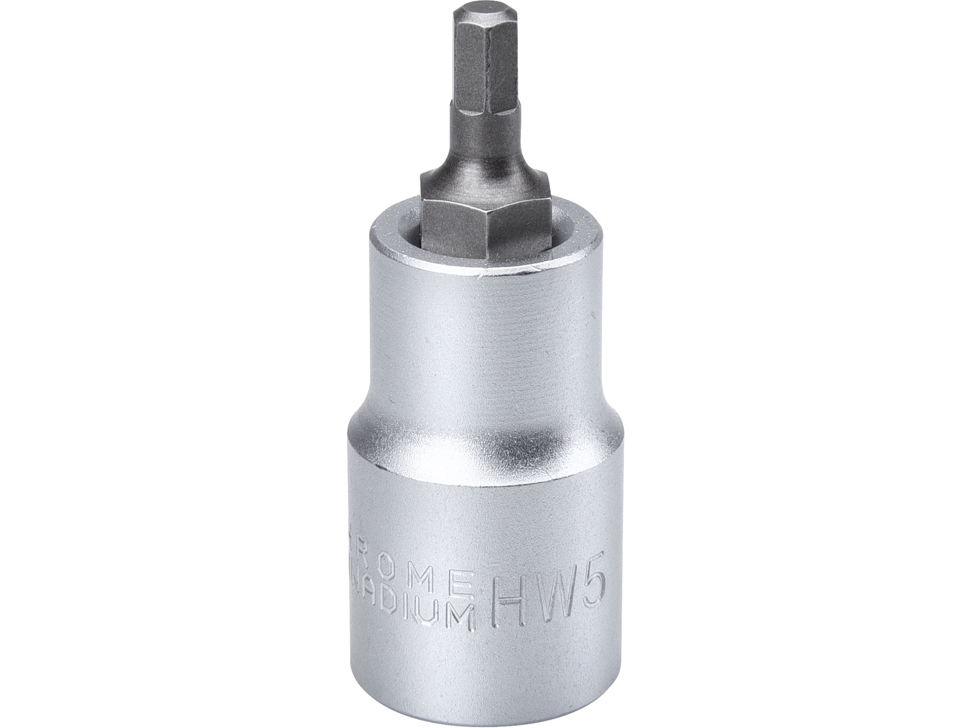 """hlavice zástrčná 1/2"""" imbus, H 5, L 55mm"""