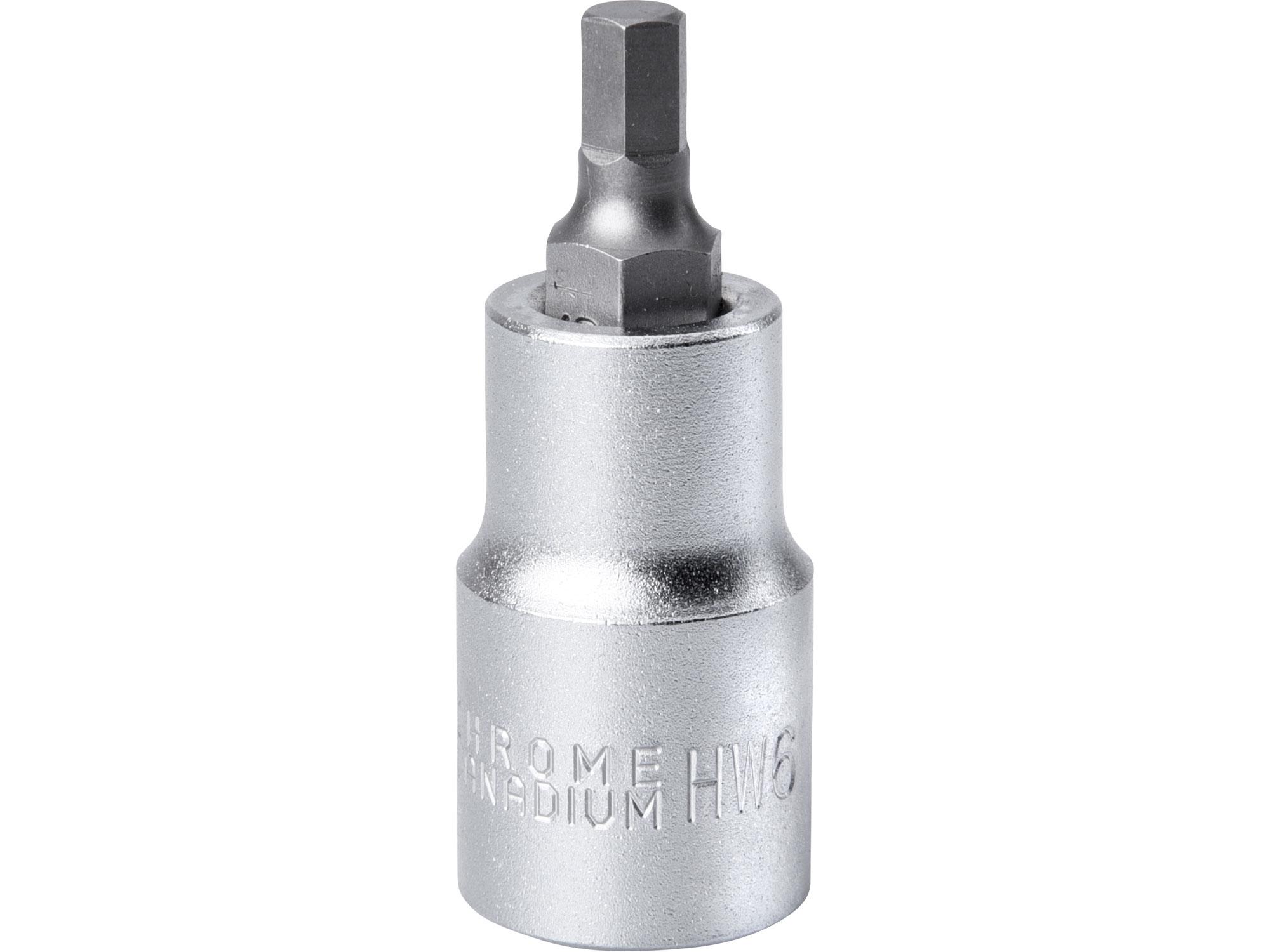 """hlavice zástrčná ius, 1/2"""", HX 6, L 55mm, FORTUM 4700606"""