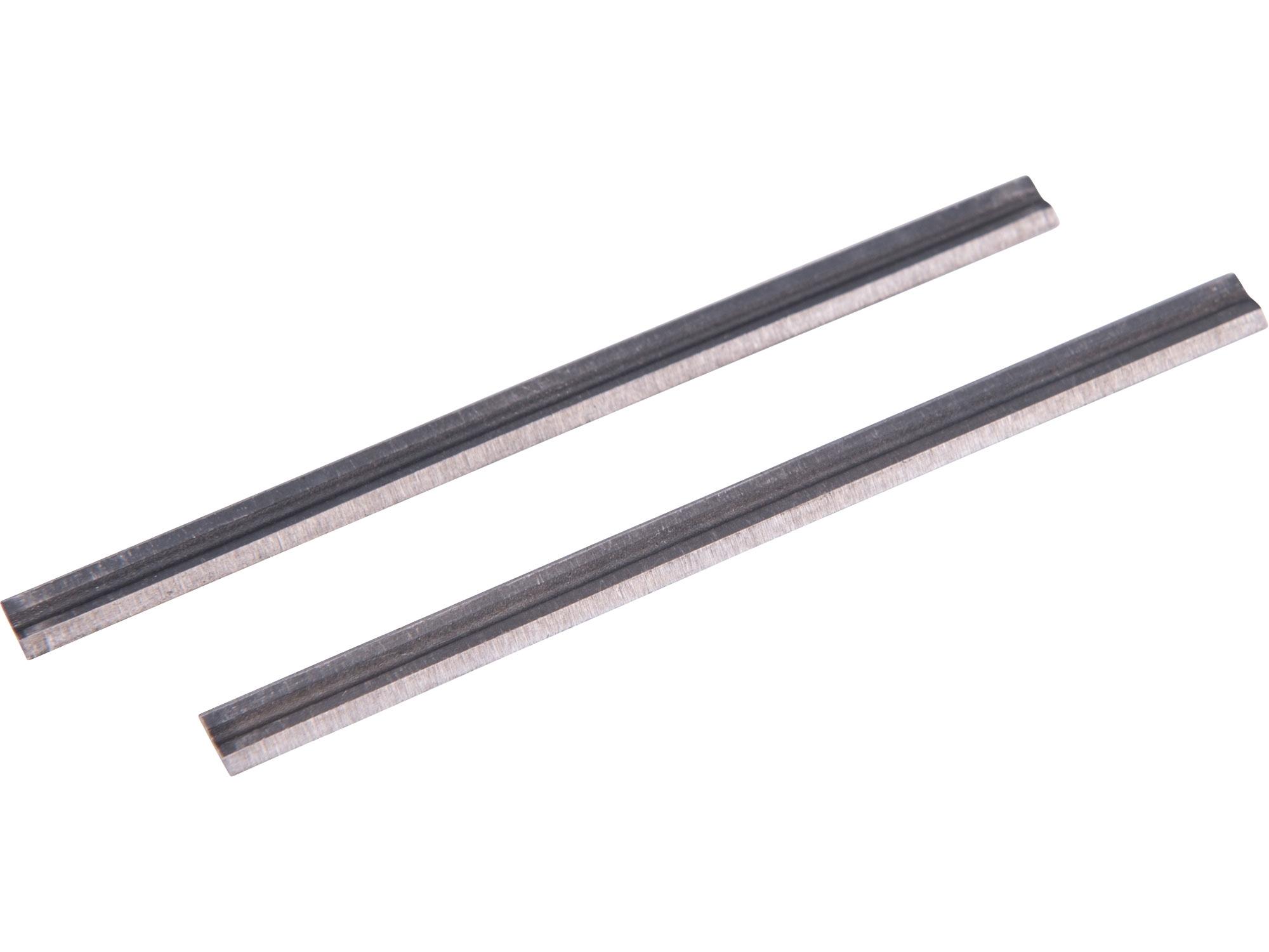 hoblovací nůž, 2ks, 82x5,7x1mm, pro 409113 409113-32