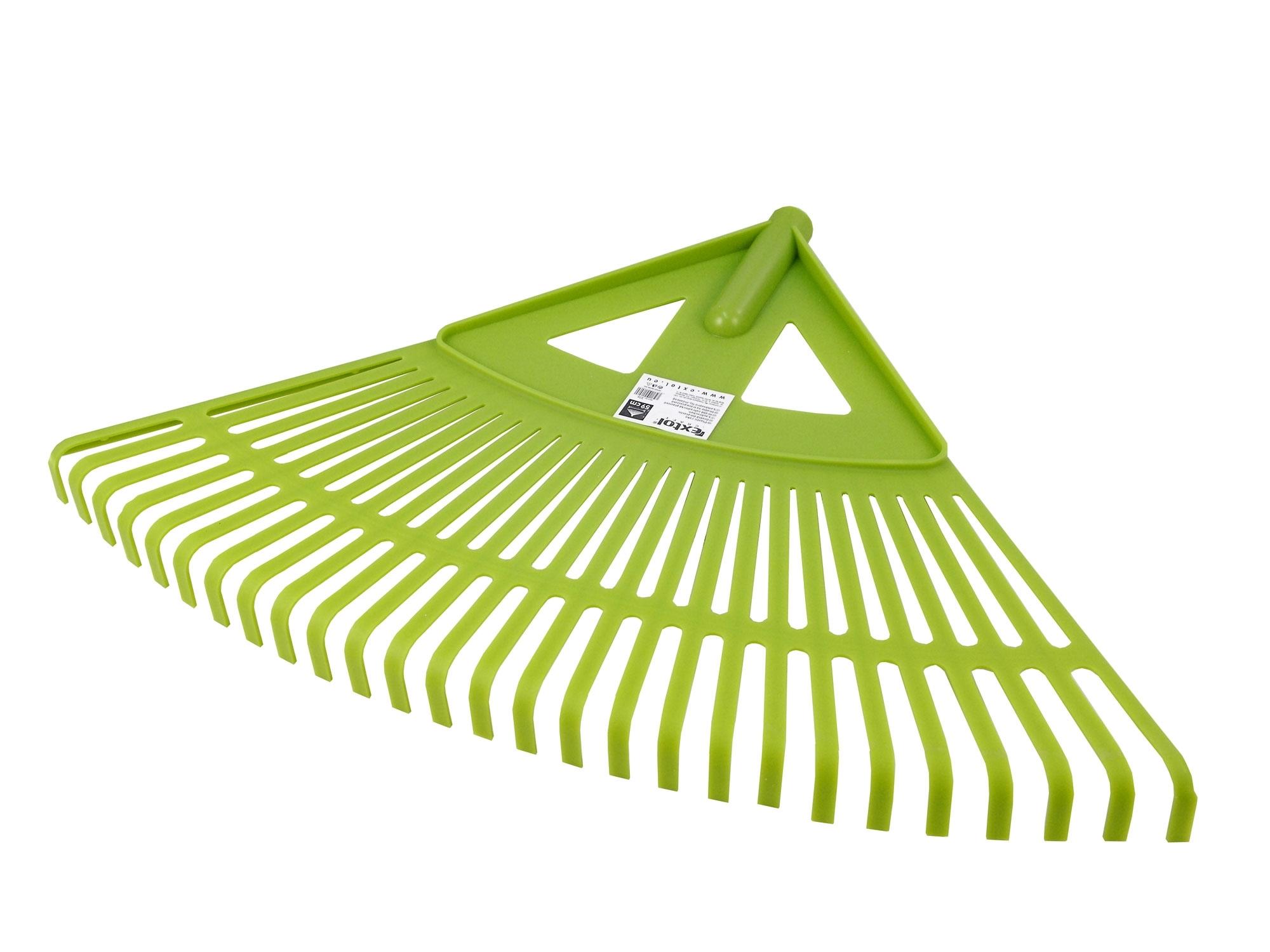 hrábě zahradnické plastové bez násady, šířka 59cm