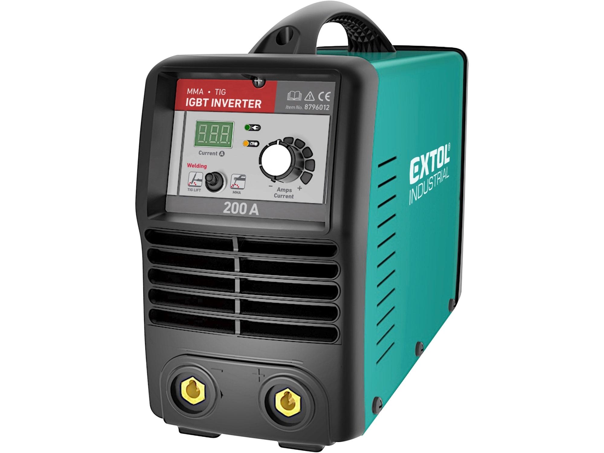 Invertor svařovací 200A Smart, EXTOL INDUSTRIAL 8796012
