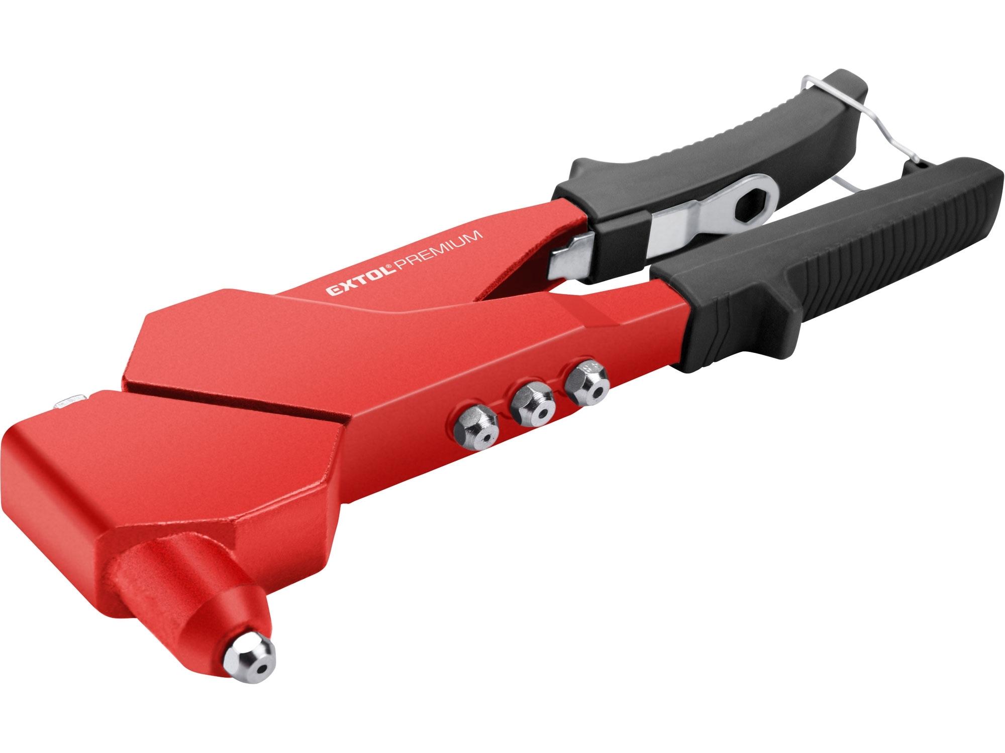 kleště nýtovací s otočnou hlavou, 280mm, EXTOL PREMIUM 8813731