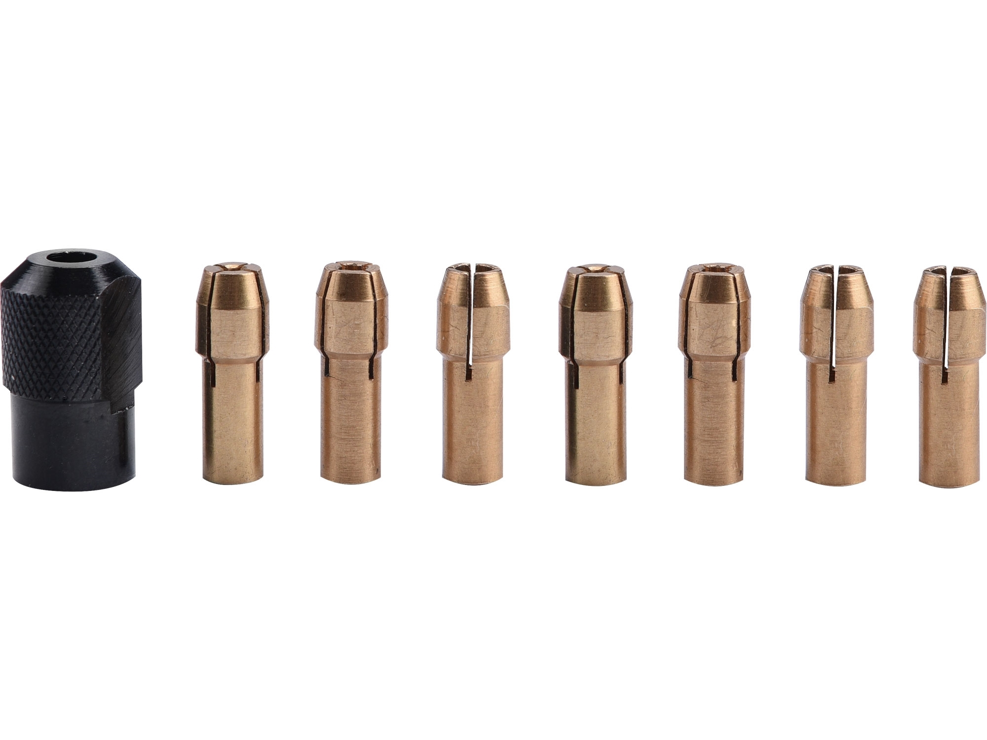 kleštiny, sada 8ks, ⌀ 1-1,6-2-2,3-3-2x3,2mm, hlavice M8x0,75