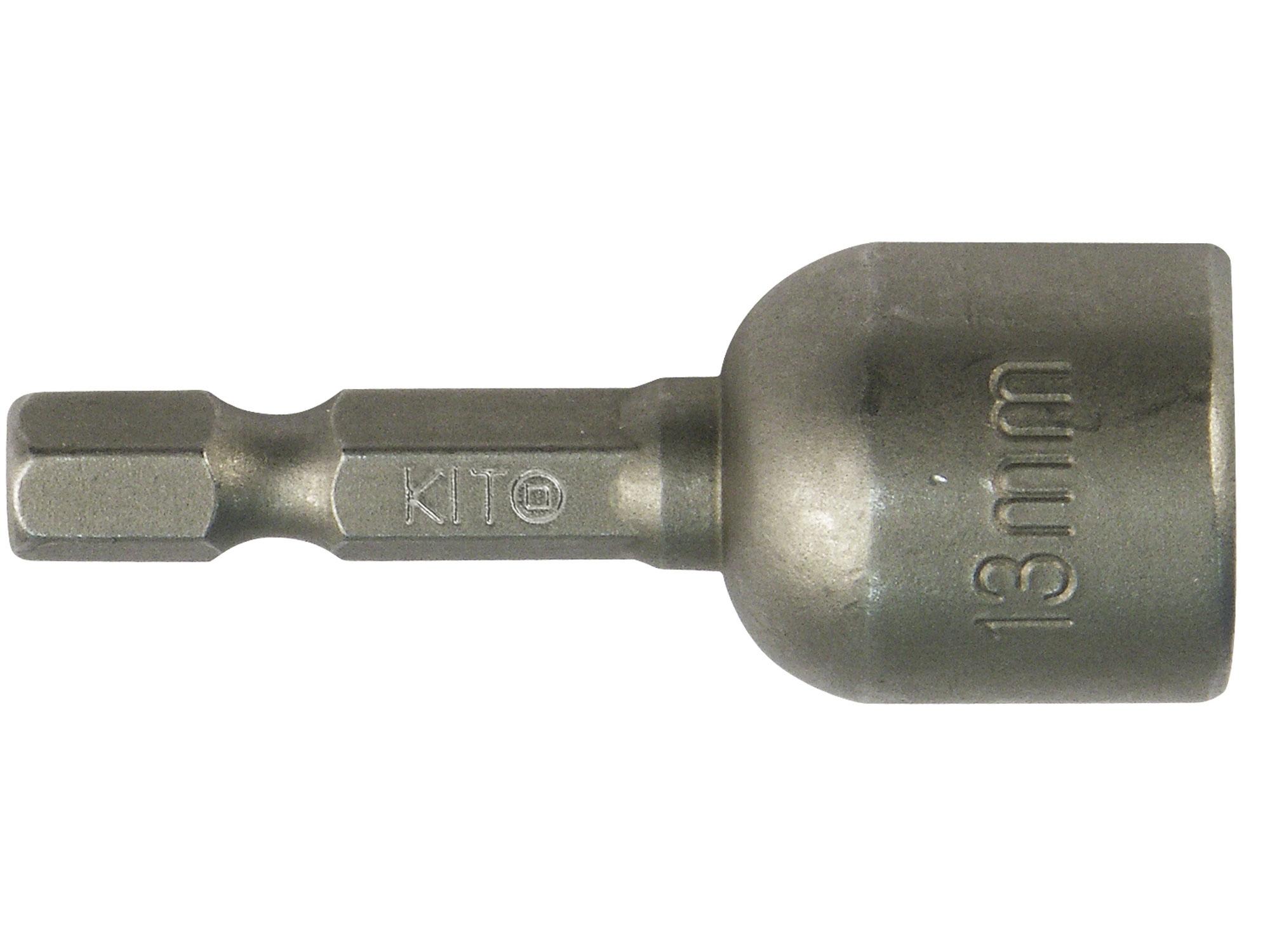 klíč nástrčný HEX do vrtačky, magnetický, 13x48mm, S2, KITO 4810613