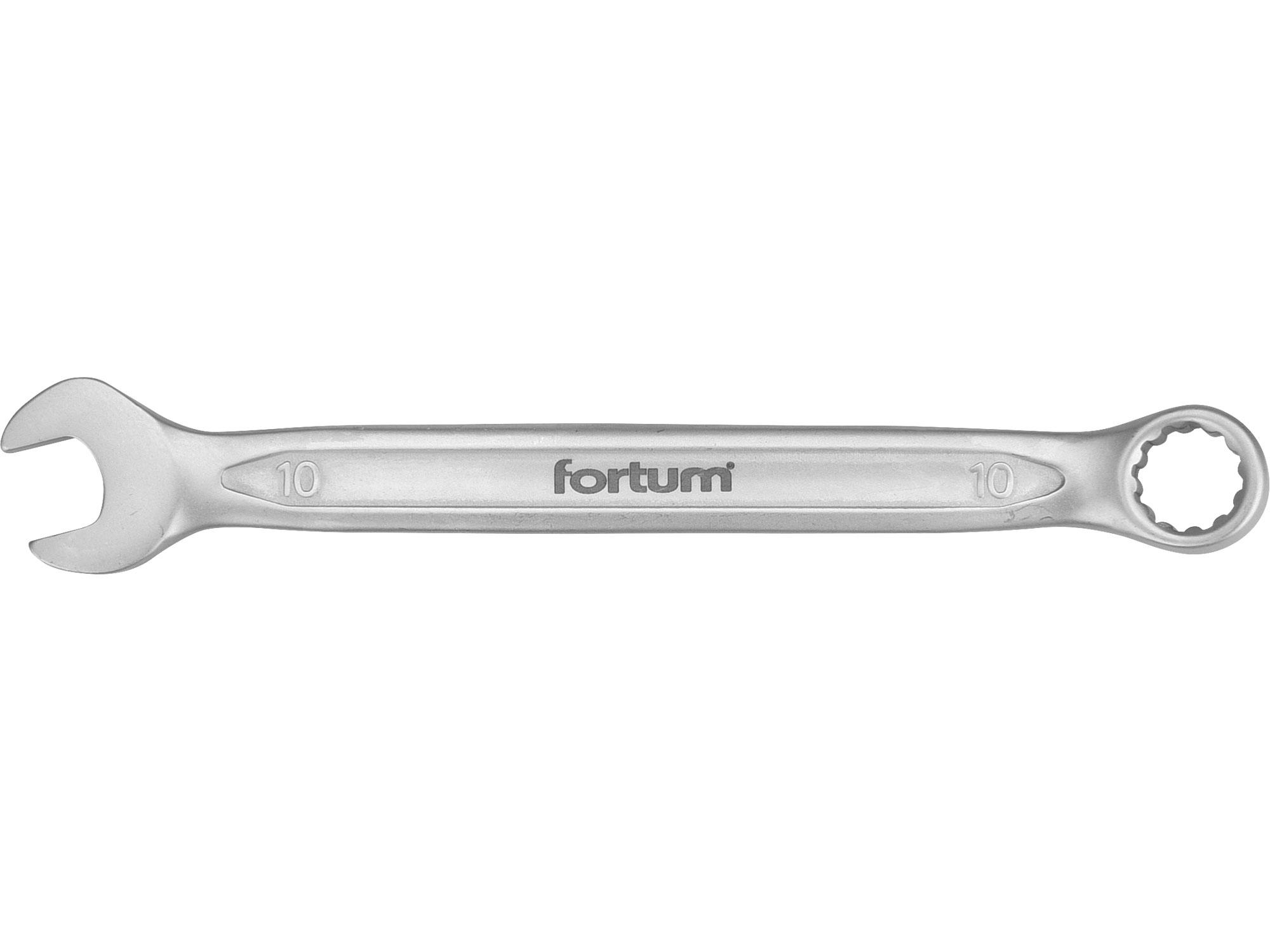 klíč očkoplochý, 10mm, L 150mm, FORTUM 4730210