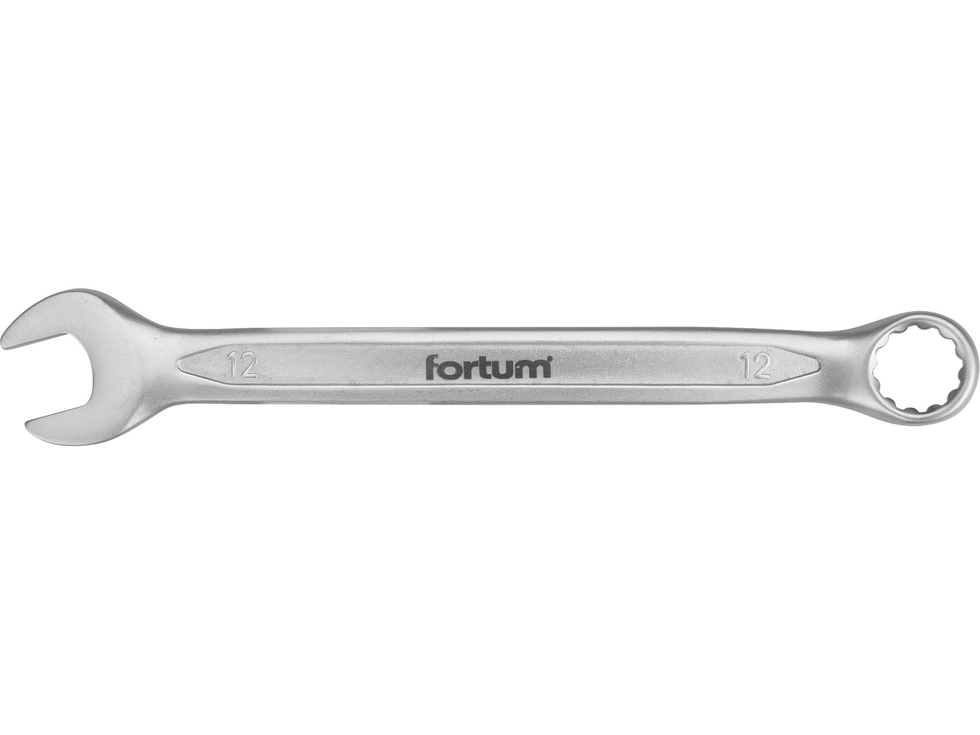 klíč očkoplochý, 12mm, L 171mm, FORTUM 4730212