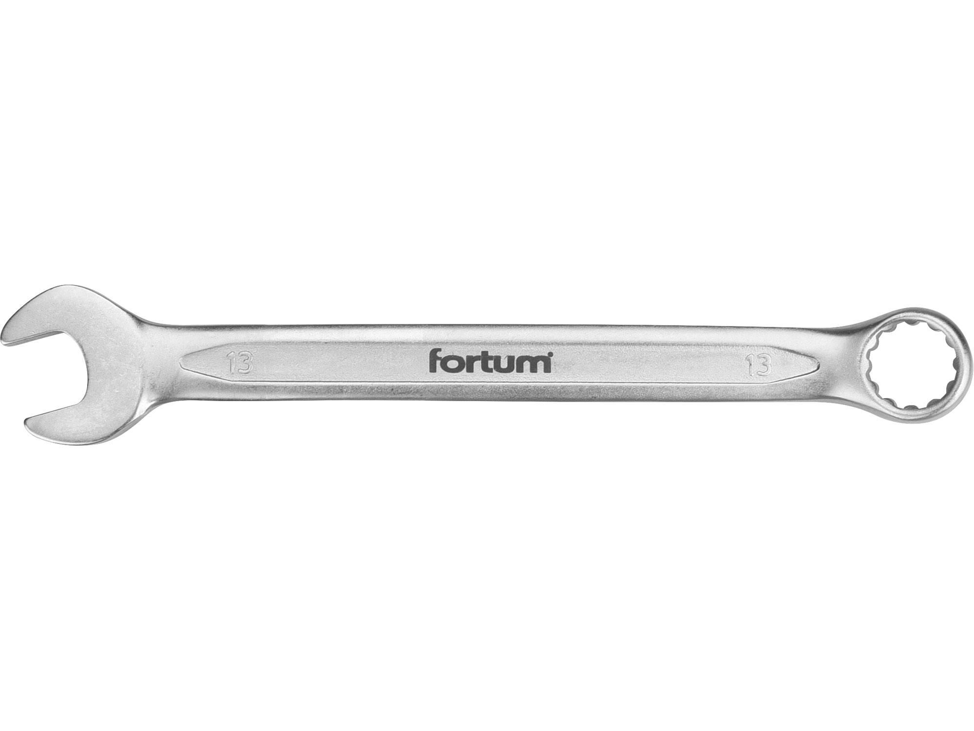klíč očkoplochý, 13mm, L 181mm, FORTUM 4730213