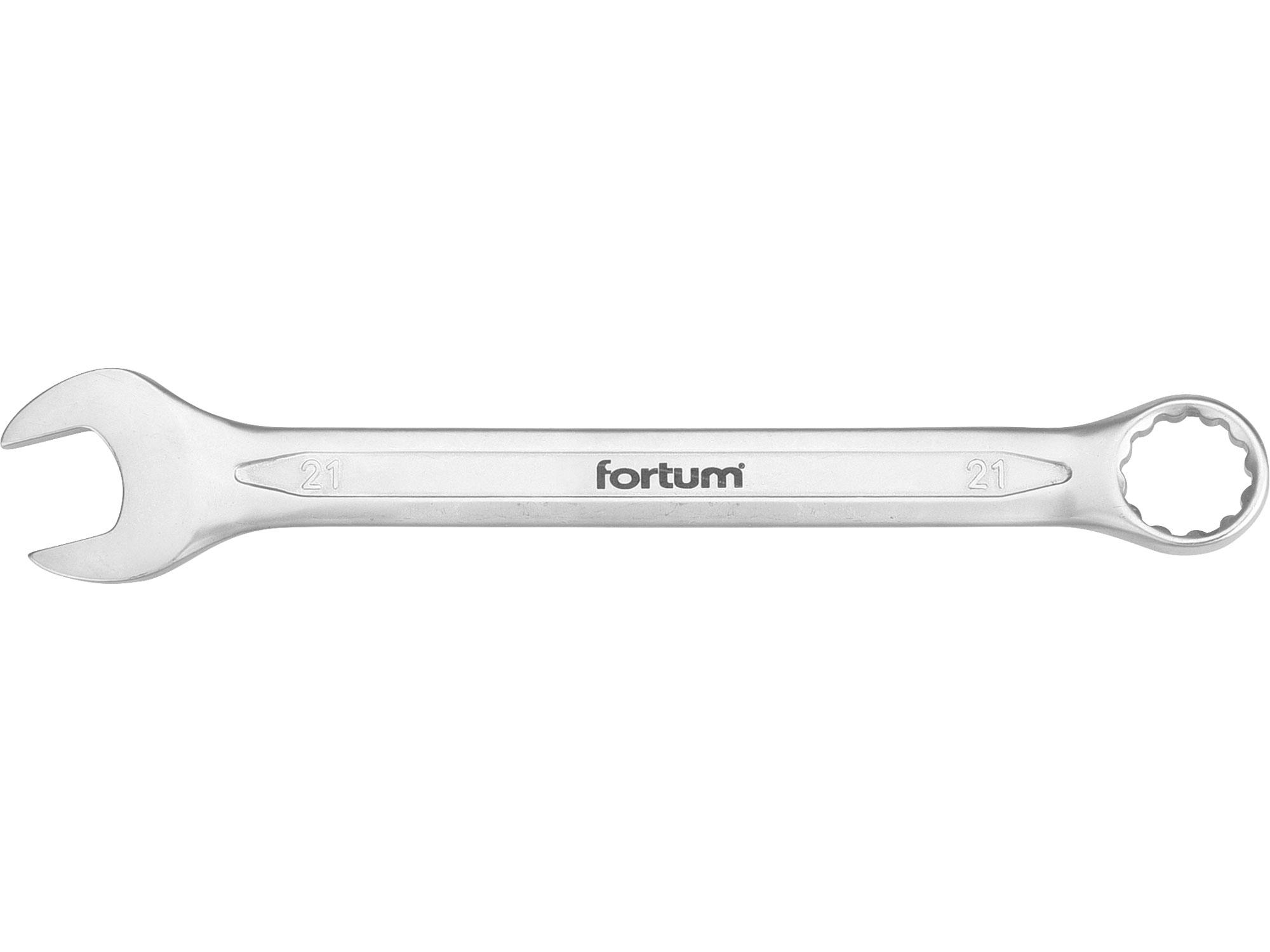 klíč očkoplochý, 21mm, L 260mm, FORTUM 4730221
