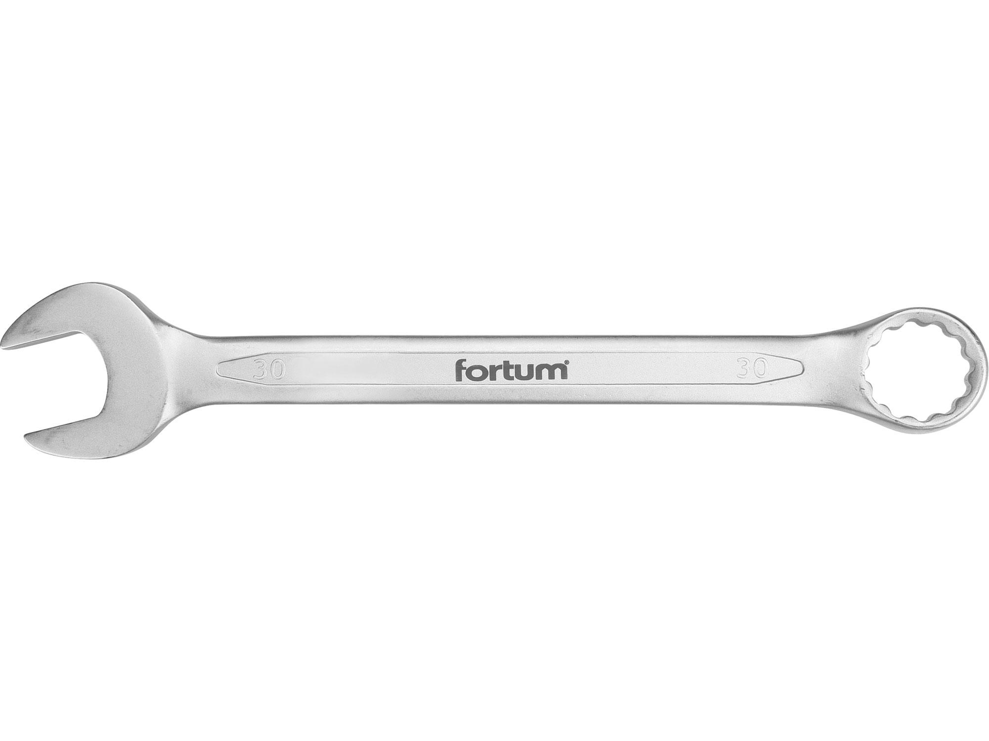 klíč očkoplochý, 30mm, L 354mm, FORTUM 4730230