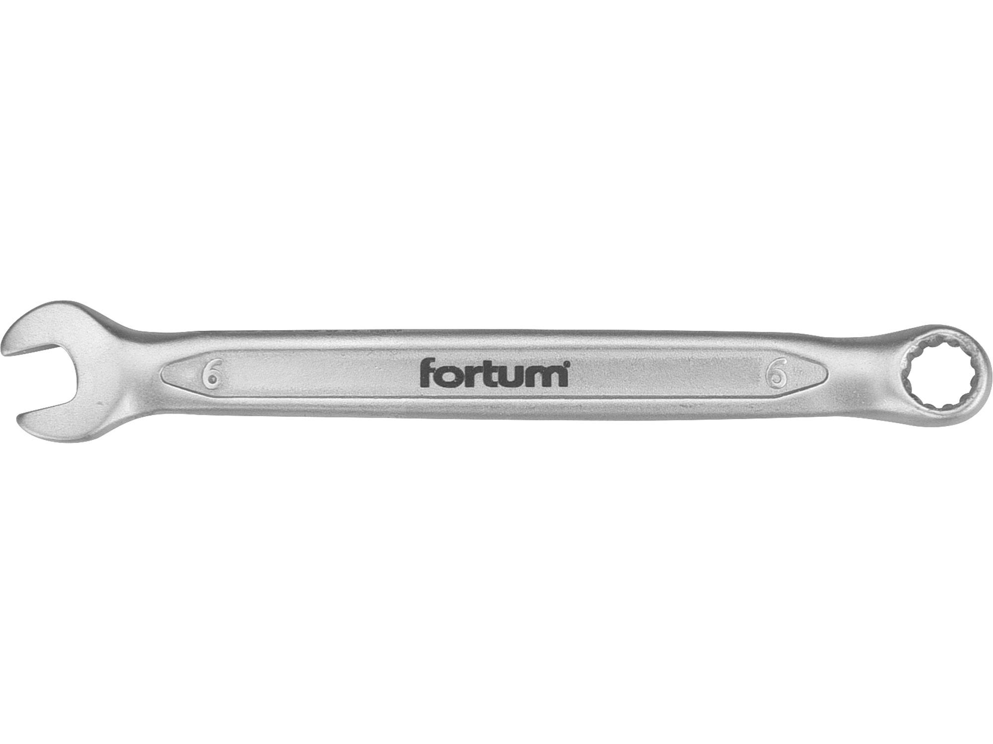 klíč očkoplochý, 6mm, L 110mm, FORTUM 4730206