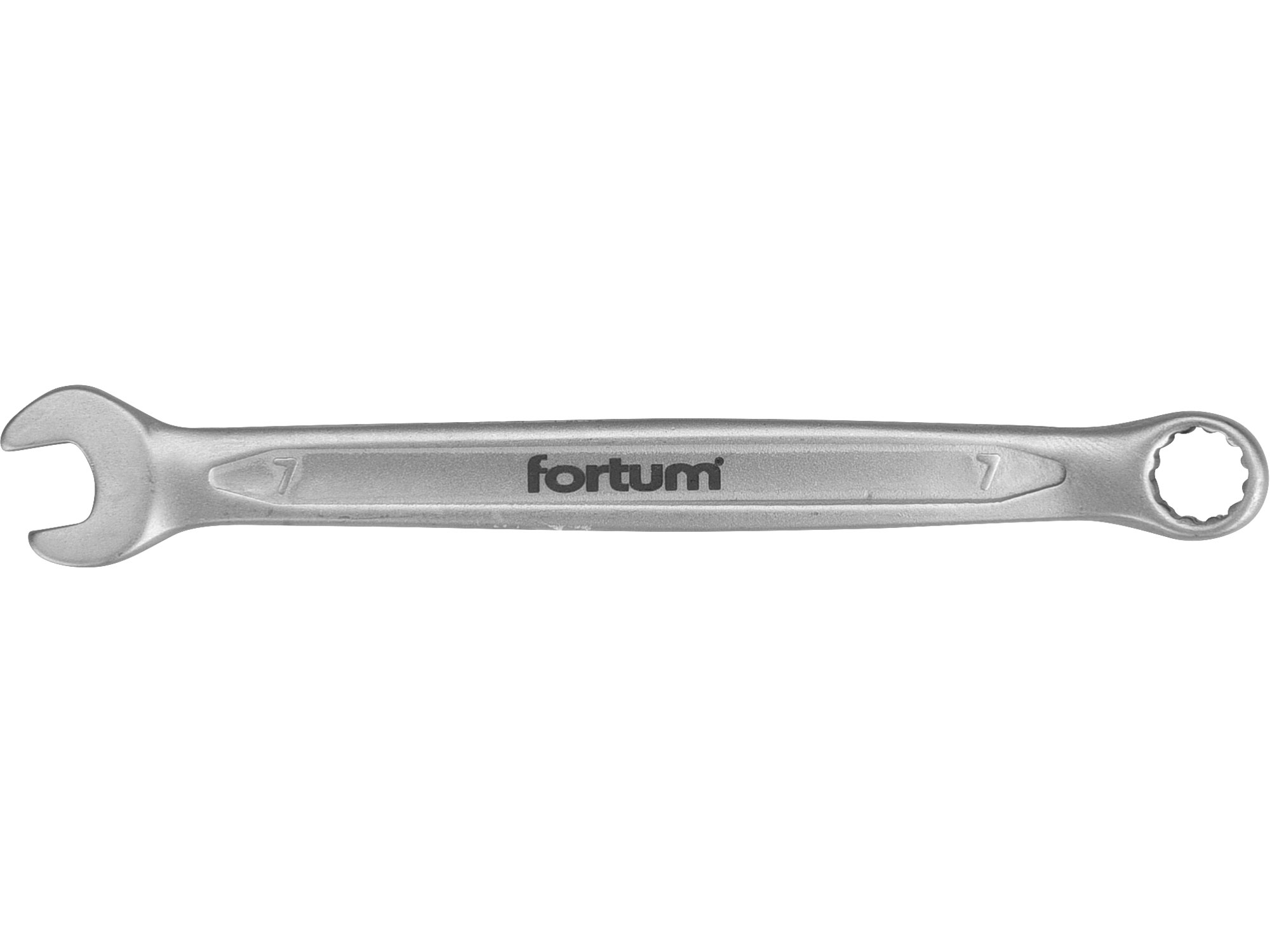 klíč očkoplochý, 7mm, L 121mm, FORTUM 4730207