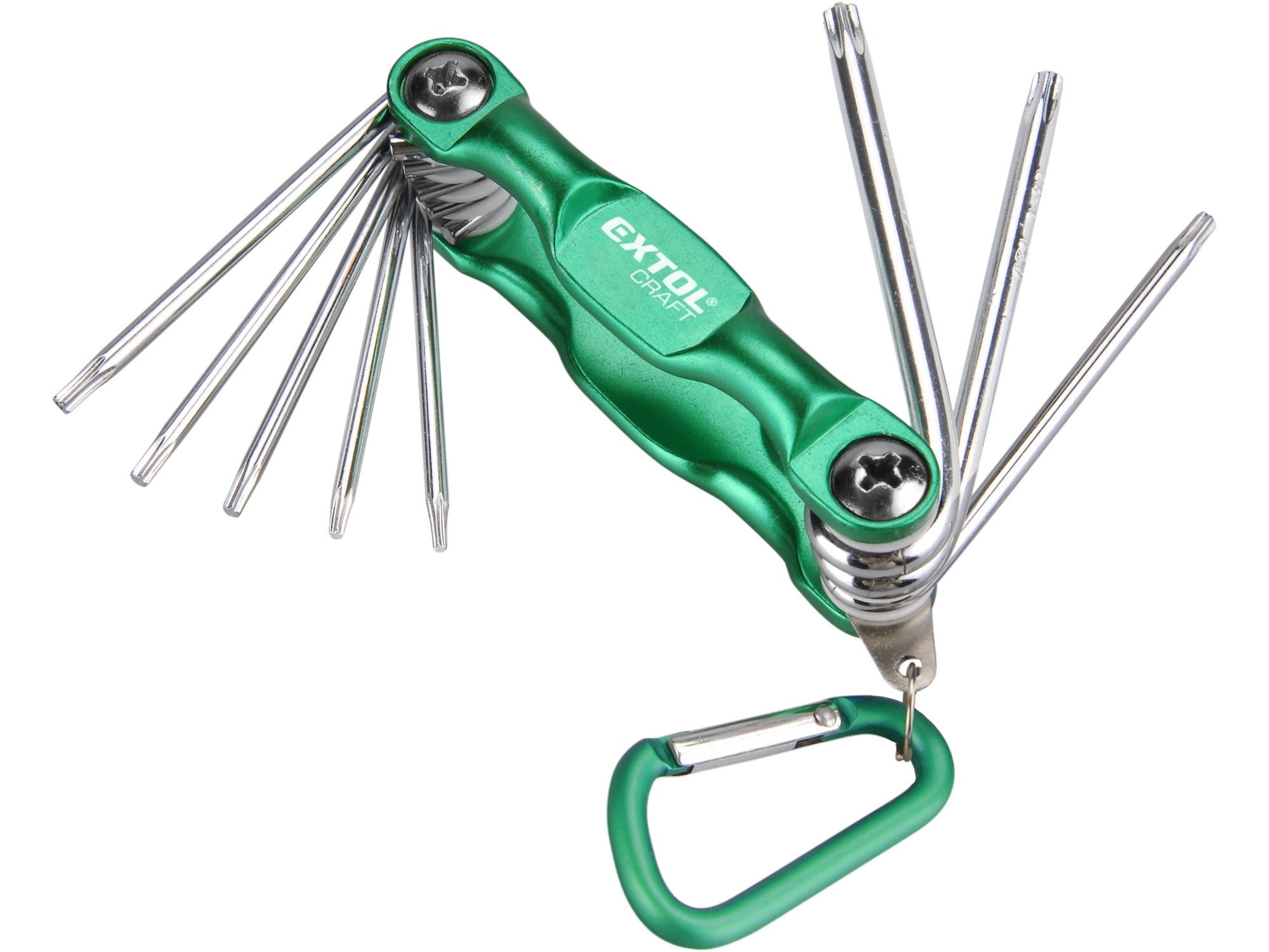 klíče TORX, sada 8ks, T6-25mm, EXTOL CRAFT 66016