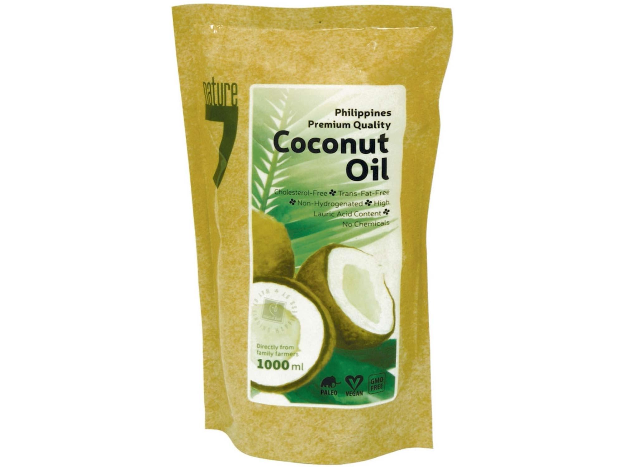 kokosový olej 1000ml, sáček 1 litr