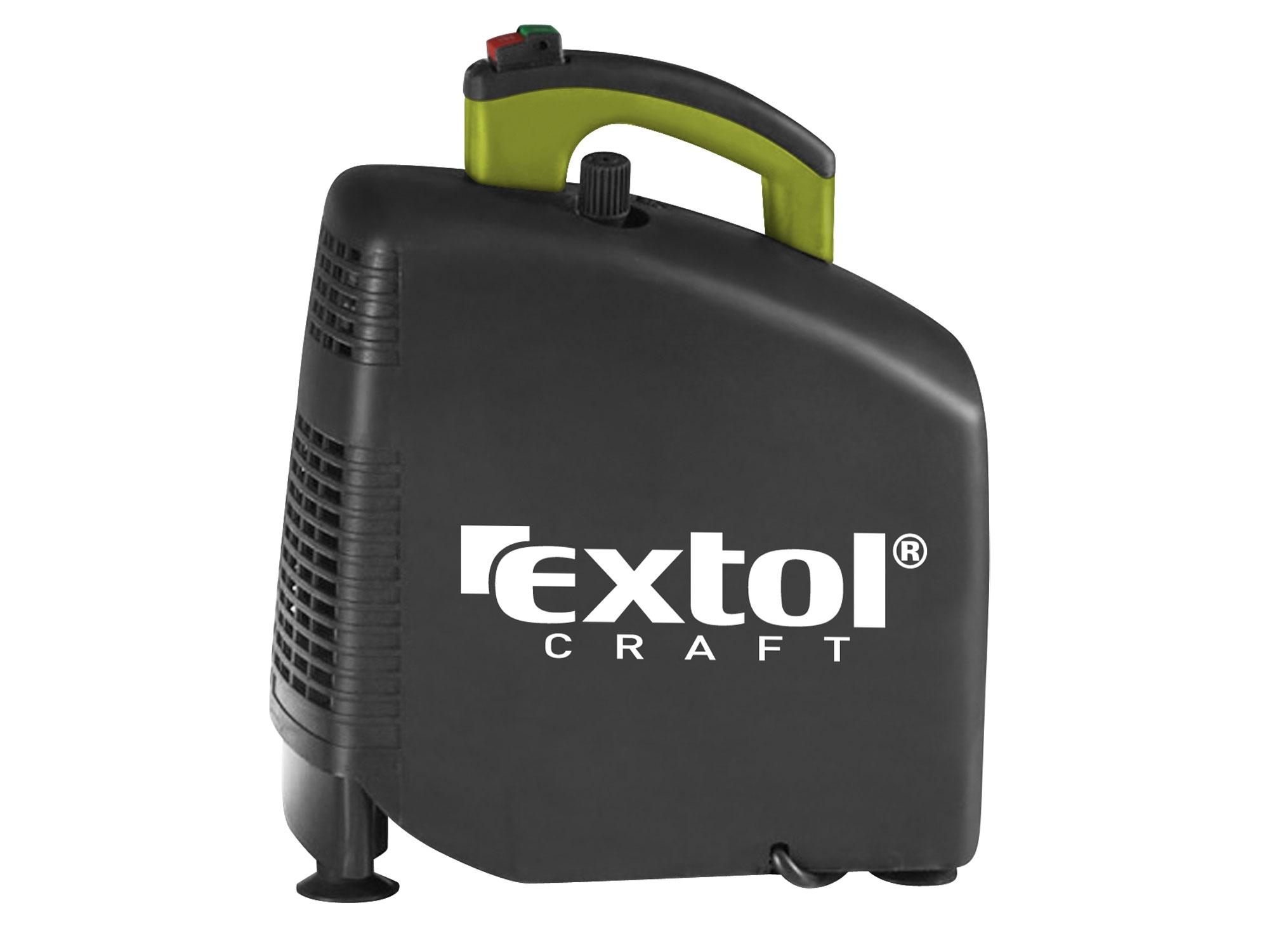 kompresor bezolejový, 1100W, EXTOL CRAFT, 418100