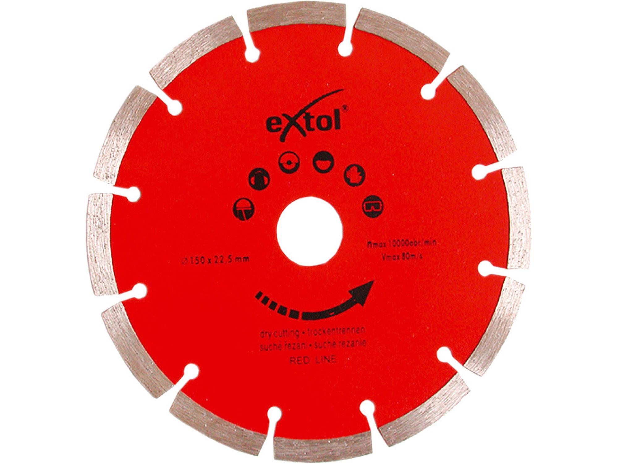 kotouč diamantový řezný segmentový, O 180x22,2mm
