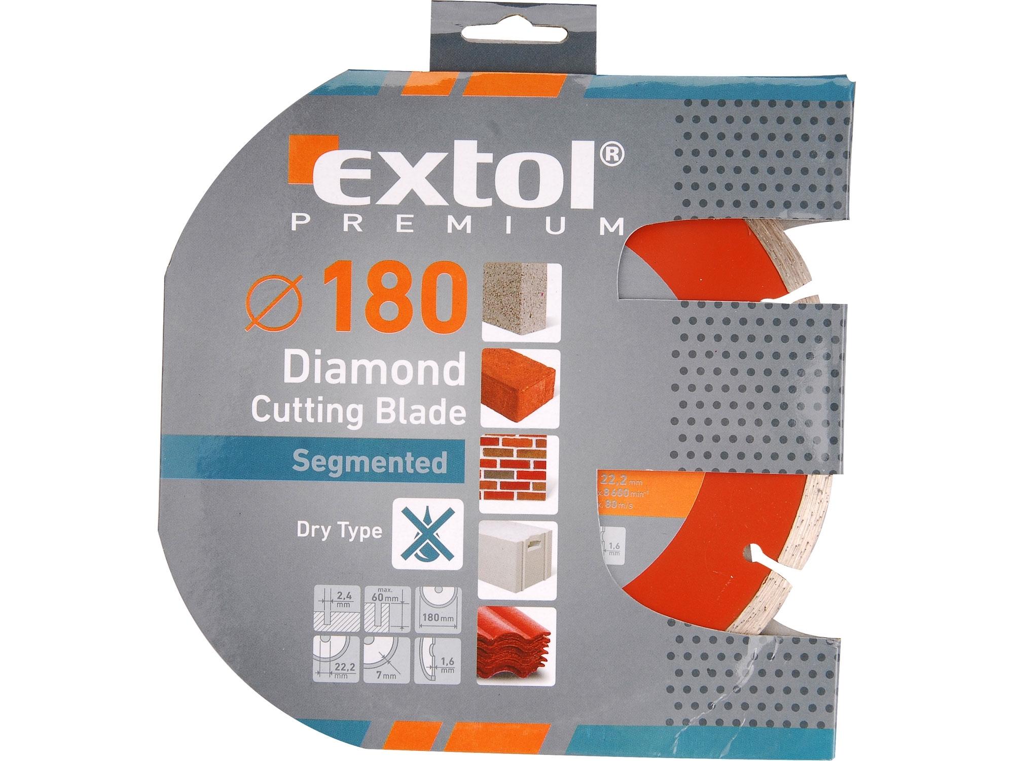 kotouč diamantový řezný segmentový - suché řezání, 150x22,2x2,3mm