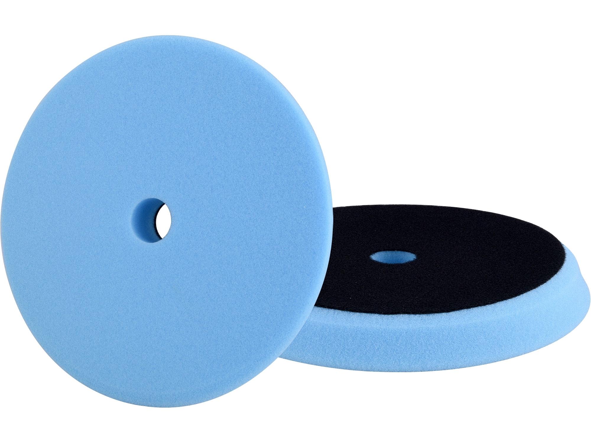 kotouč leštící pěnový, orbitální, T60, modrý, ⌀180x25mm, suchý zip ⌀152mm