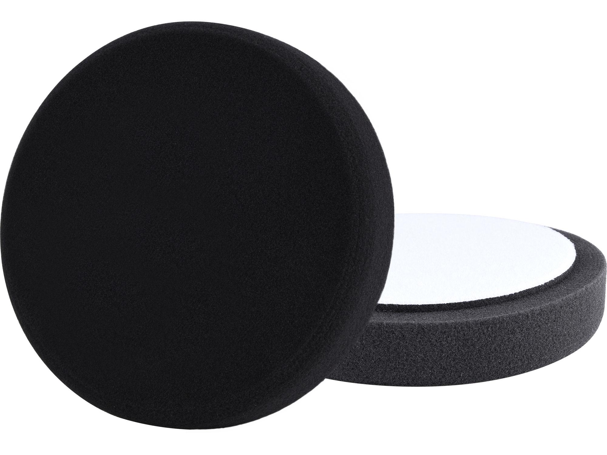 kotouč leštící pěnový, T10, černý, O150x30mm, suchý zip O125mm