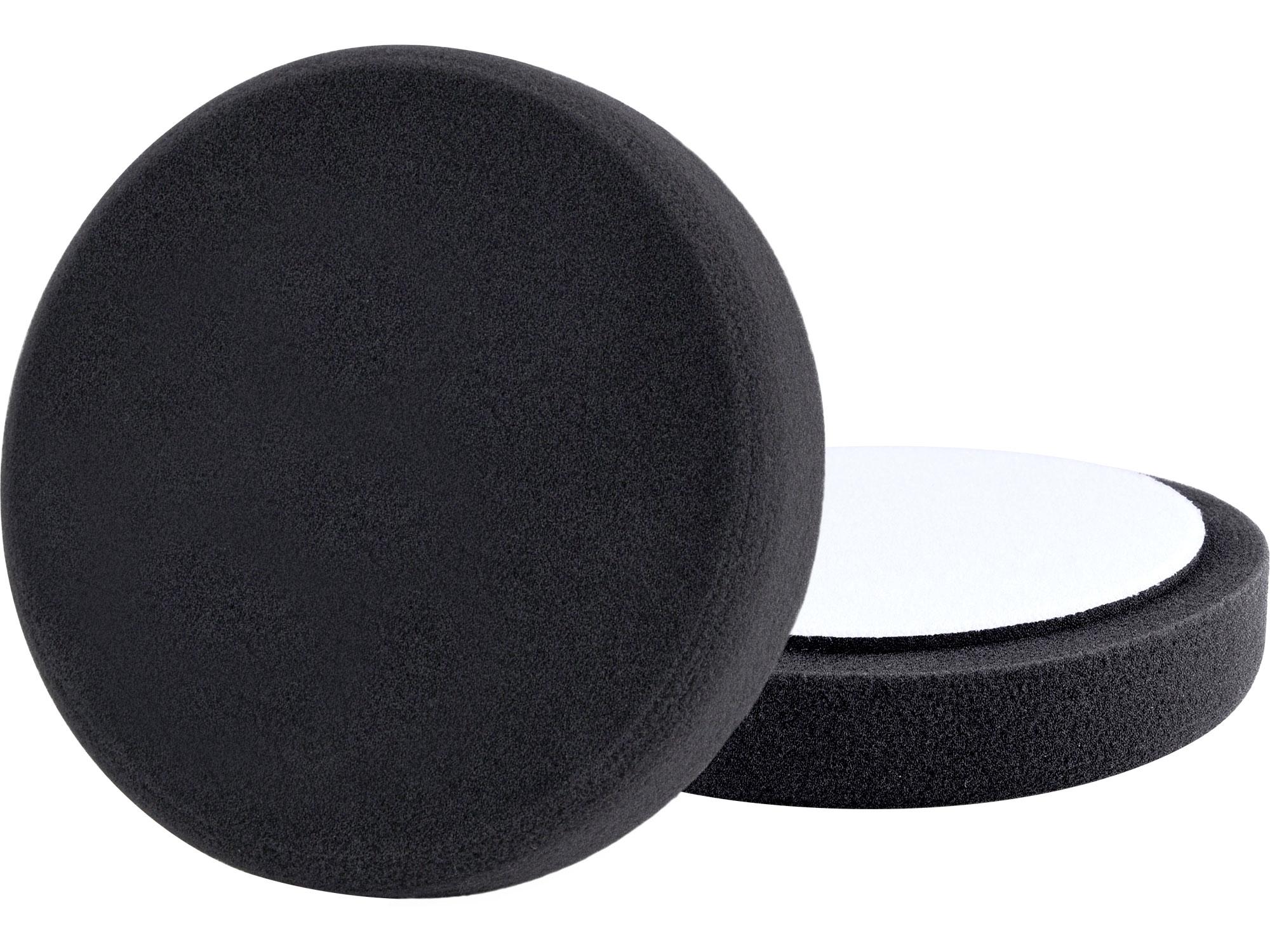 kotouč leštící pěnový, T10, černý, O180x30mm, suchý zip O150mm