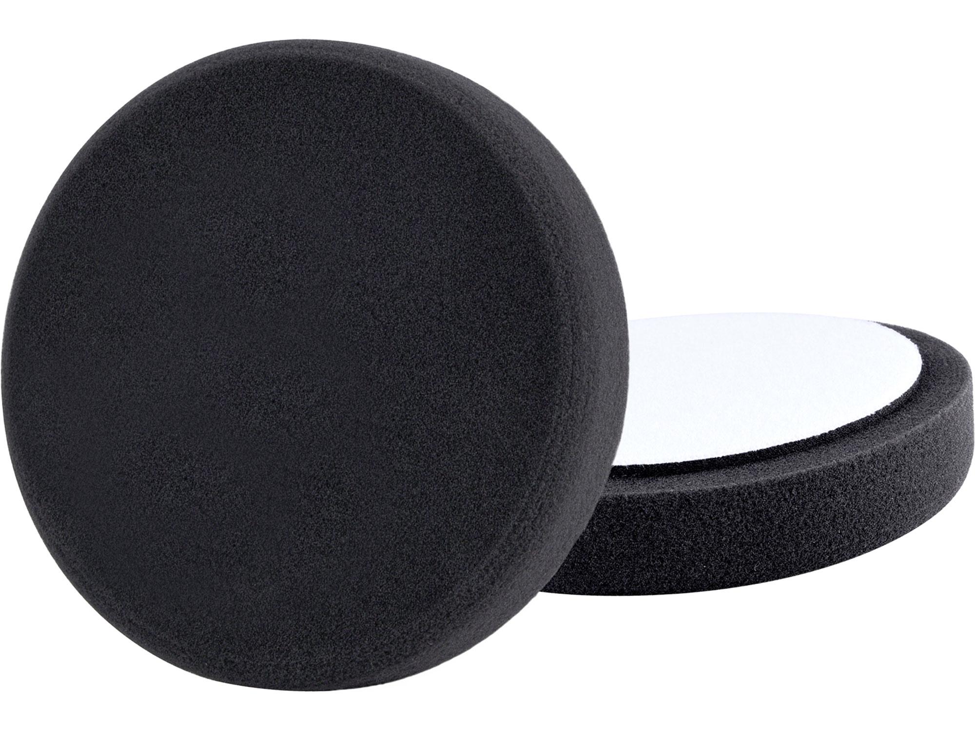 kotouč leštící pěnový, T10, černý, O200x30mm, suchý zip O180mm