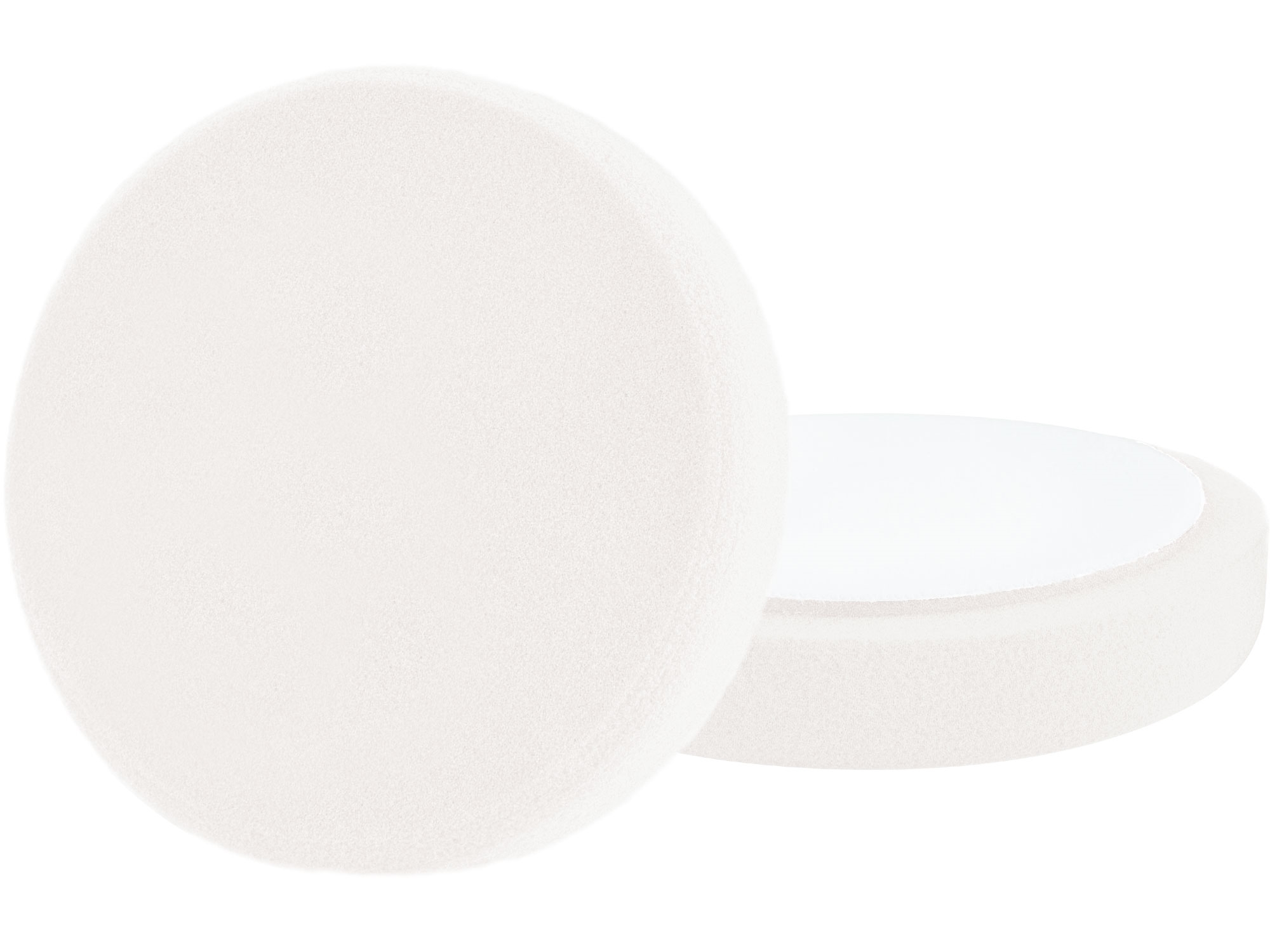 kotouč leštící pěnový, T20, bílý, O150x30mm, suchý zip O125mm