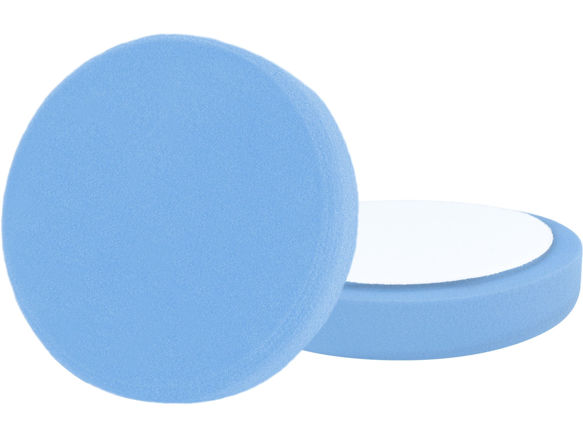 kotouč leštící pěnový, T60, modrý, ⌀200x30mm, suchý zip ⌀180mm