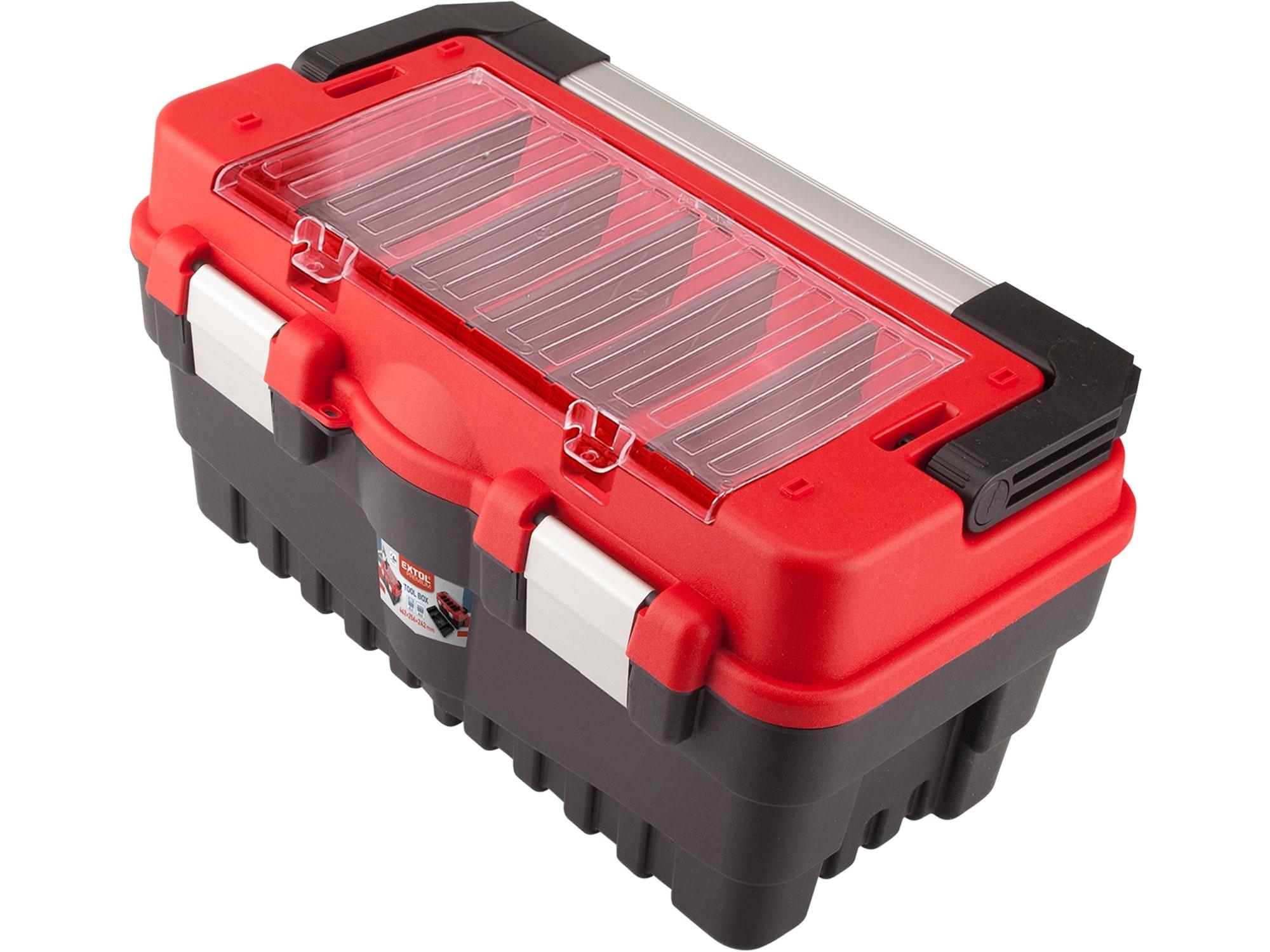 kufr na nářadí CARBO vel. S, 462x256x242mm, EXTOL PREMIUM 8856080