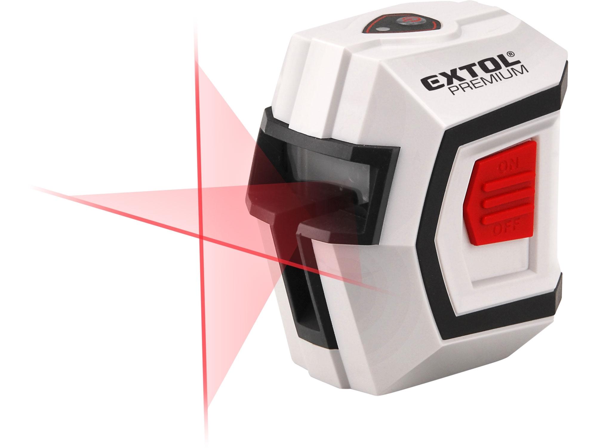 laser liniový, křížový samonivelační