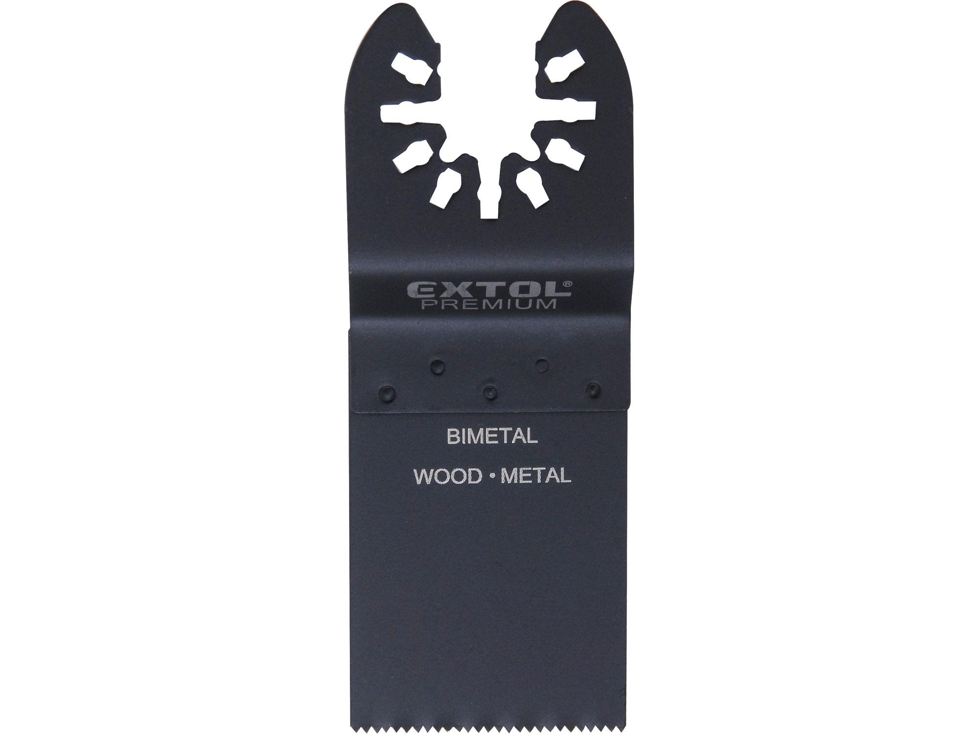list pilový zanořovací na kov, 34mm, BIM, EXTOL PREMIUM 8803855