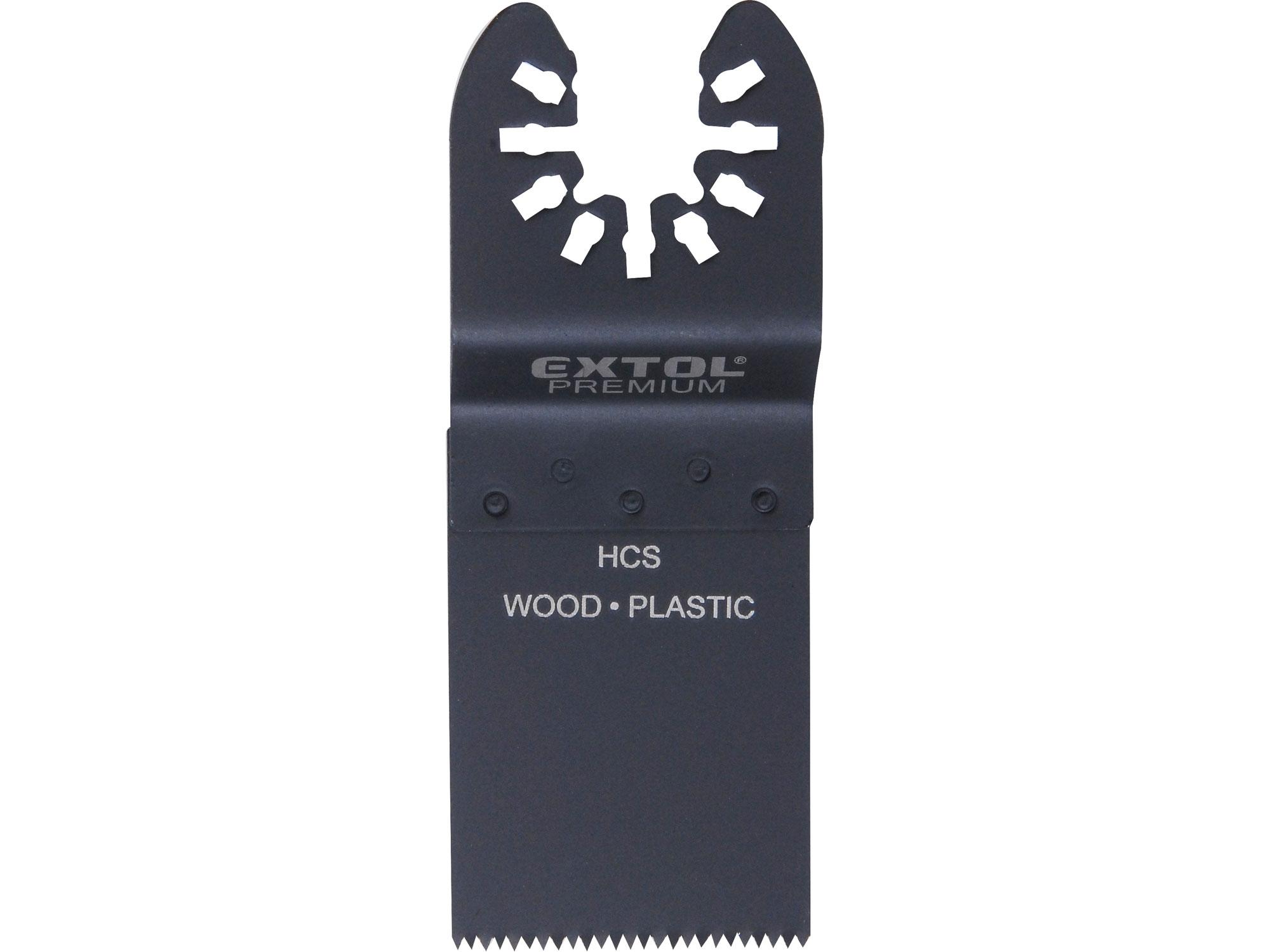 list pilový zanořovací na dřevo 2ks, 34mm, HCS, EXTOL PREMIUM 8803852