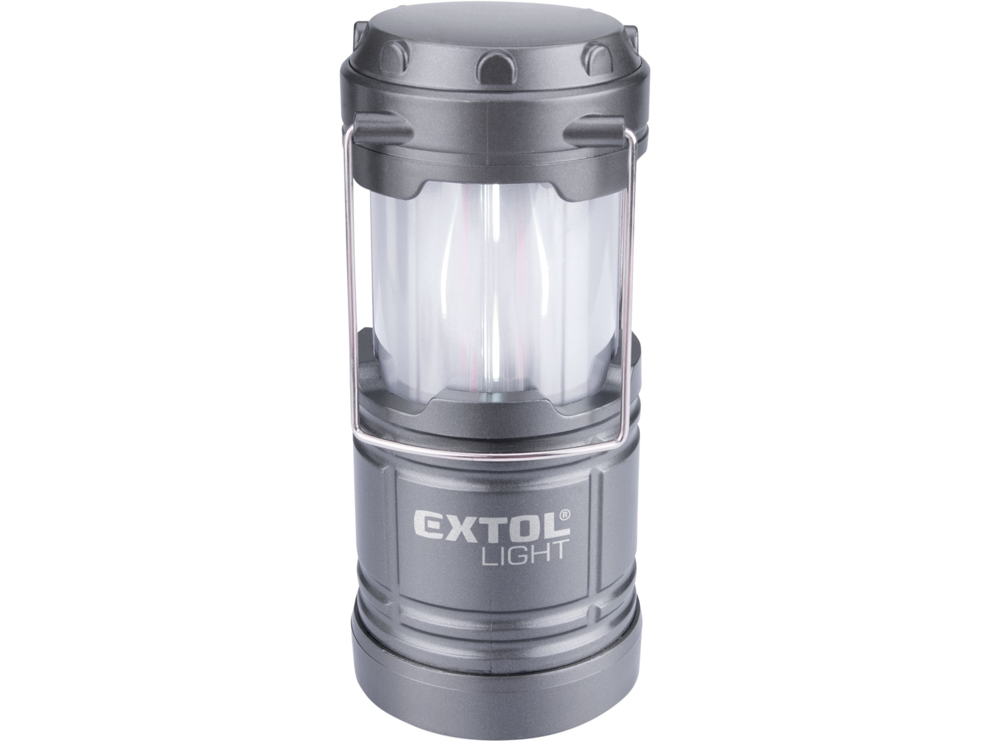 lucerna teleskopická LED, 75lm/plamen, EXTOL LIGHT 43158