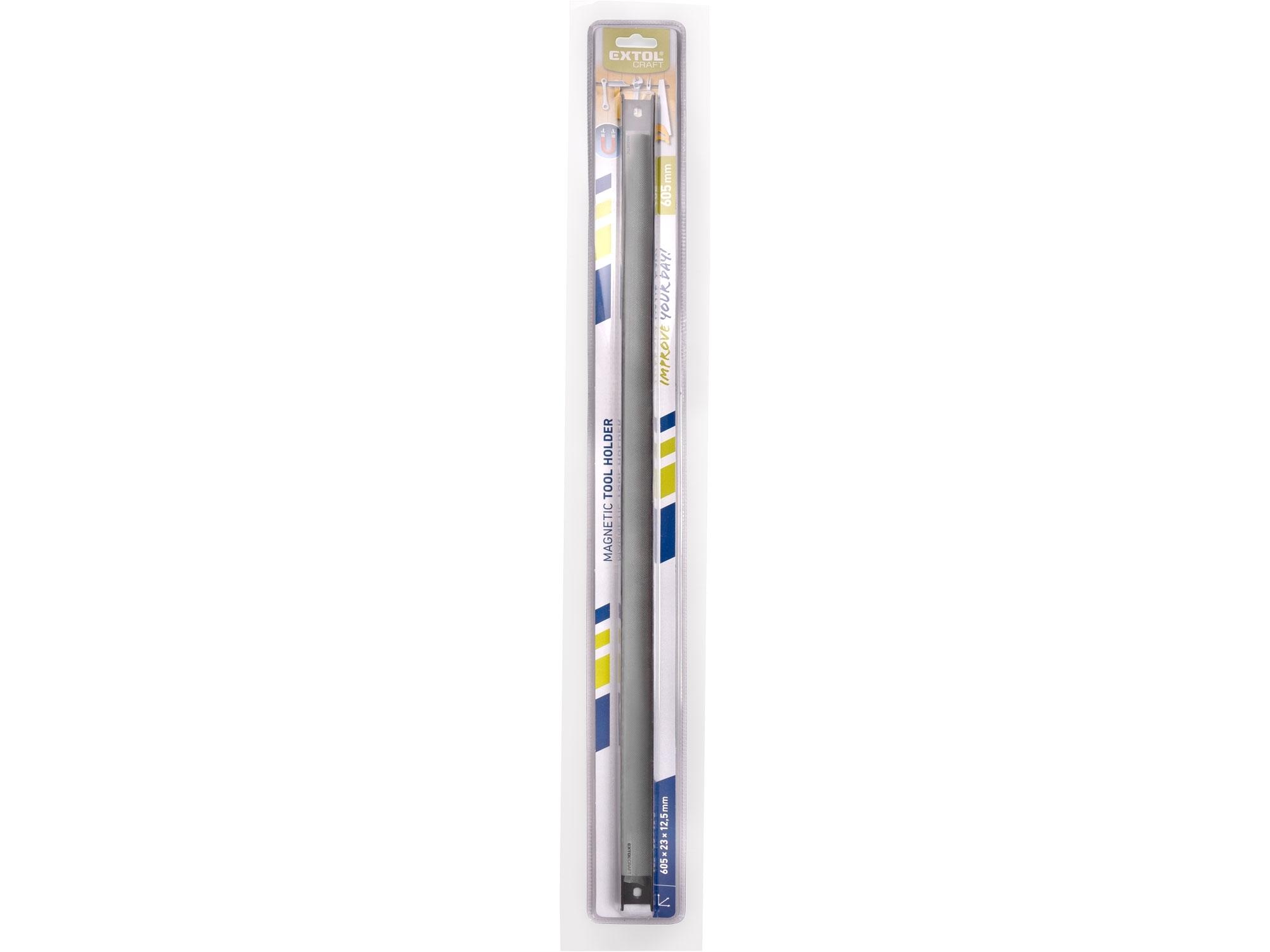 magnetická lišta na nářadí, délka 605mm