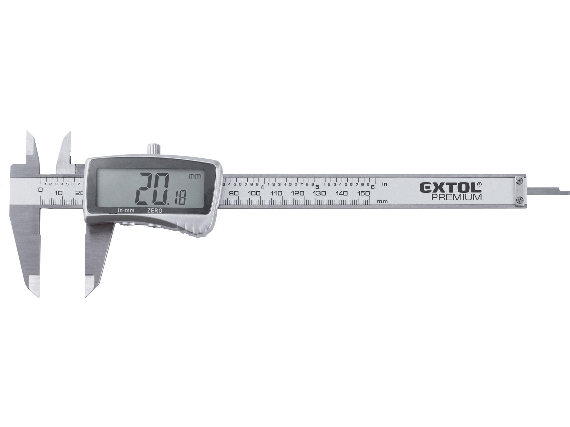 měřítko posuvné digitální nerez , 0-150mm
