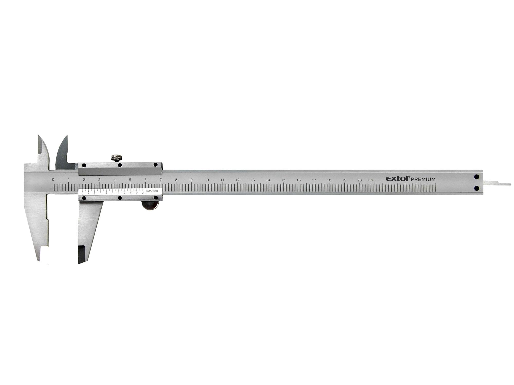 Měřítko posuv.0-150mm Extol