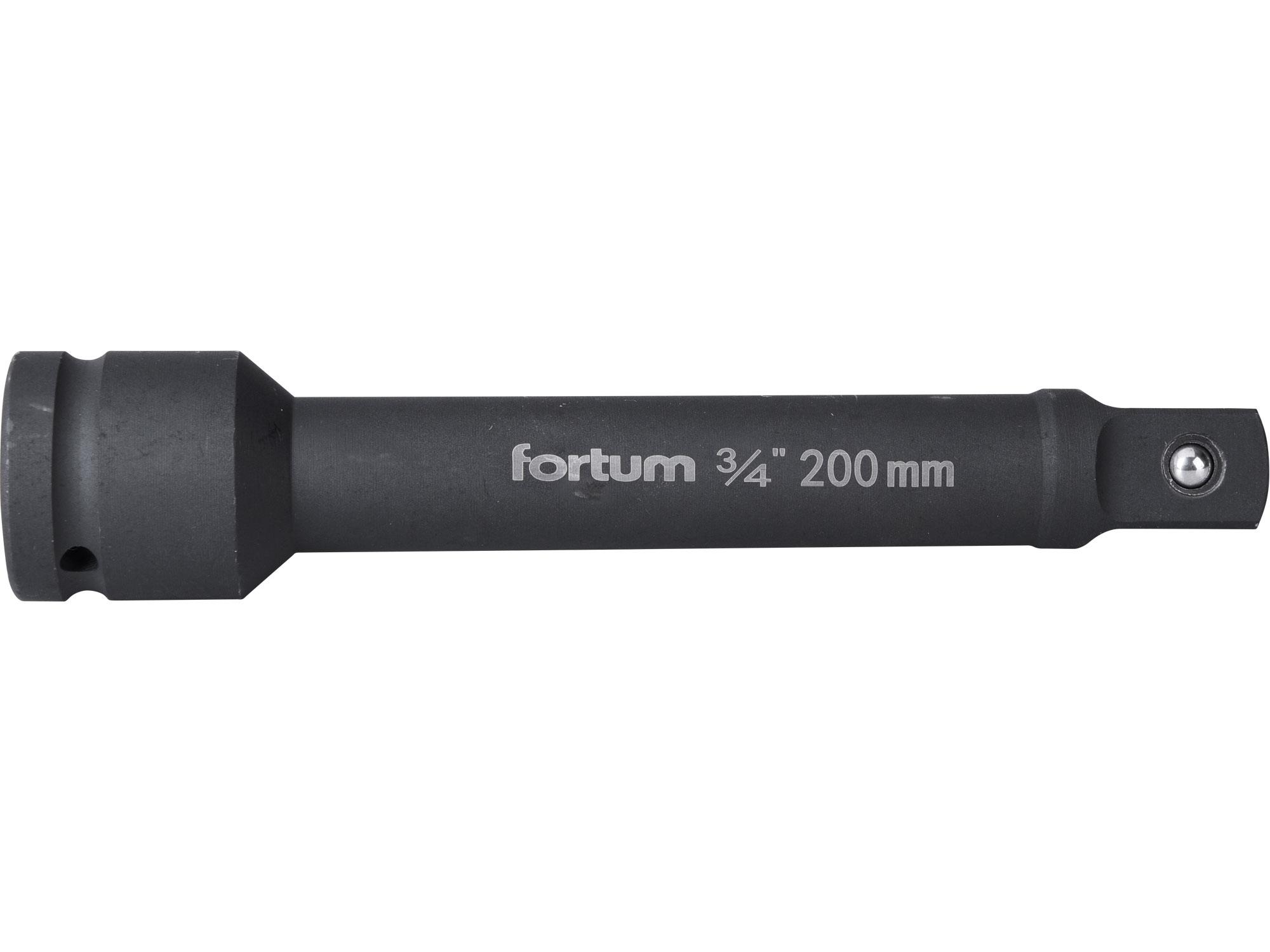 """nástavec prodlužovací, 3/4"""", L 200mm, FORTUM 4703102"""