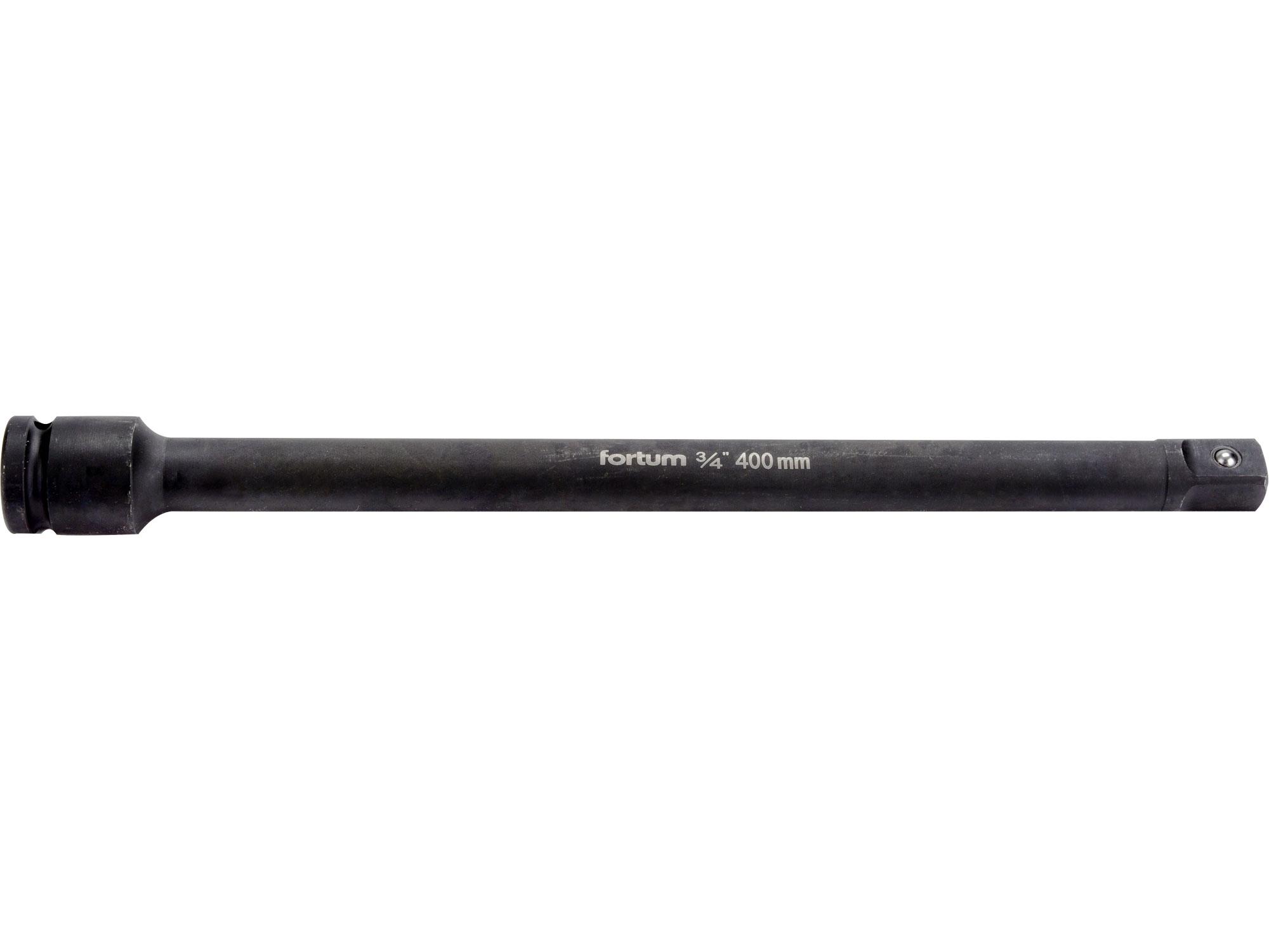 """nástavec prodlužovací, 3/4"""", L 400mm, FORTUM 4703103"""