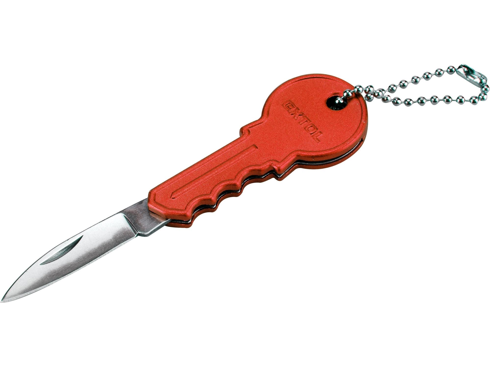 nůž s rukojetí ve tvaru klíče, 100/60mm, nerez, EXTOL CRAFT 91394