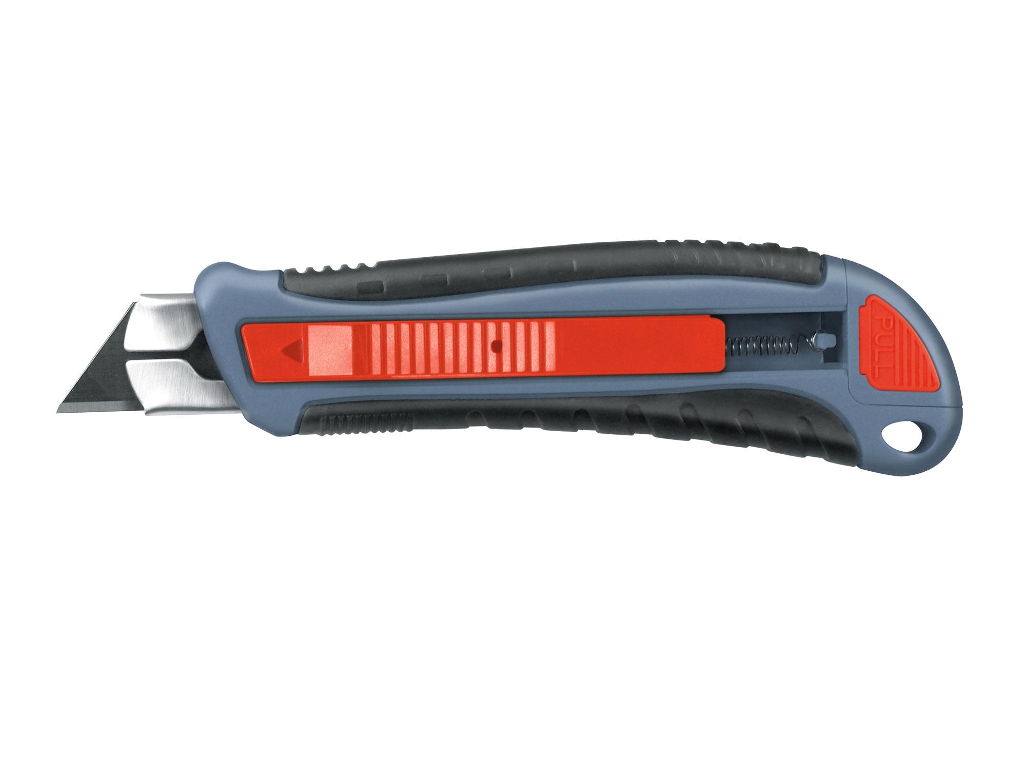 nůž s výměnným břitem, samozasouvací, 19mm, EXTOL PREMIUM 8855020