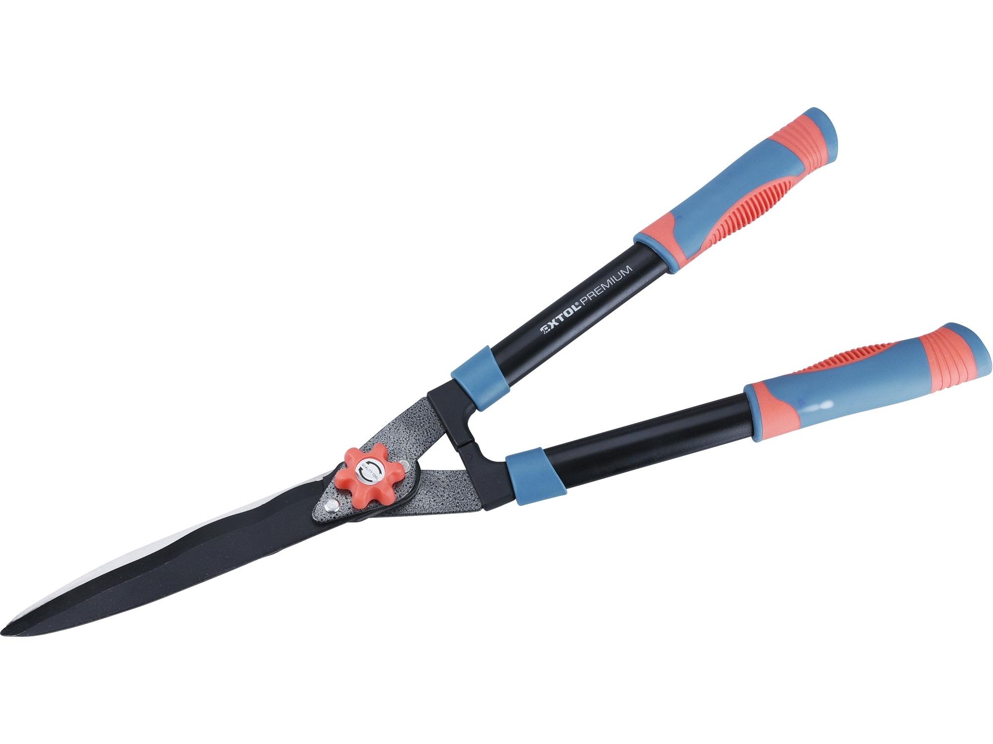 nůžky na živý plot s vlnitým ostřím, 630mm, EXTOL PREMIUM 8873711