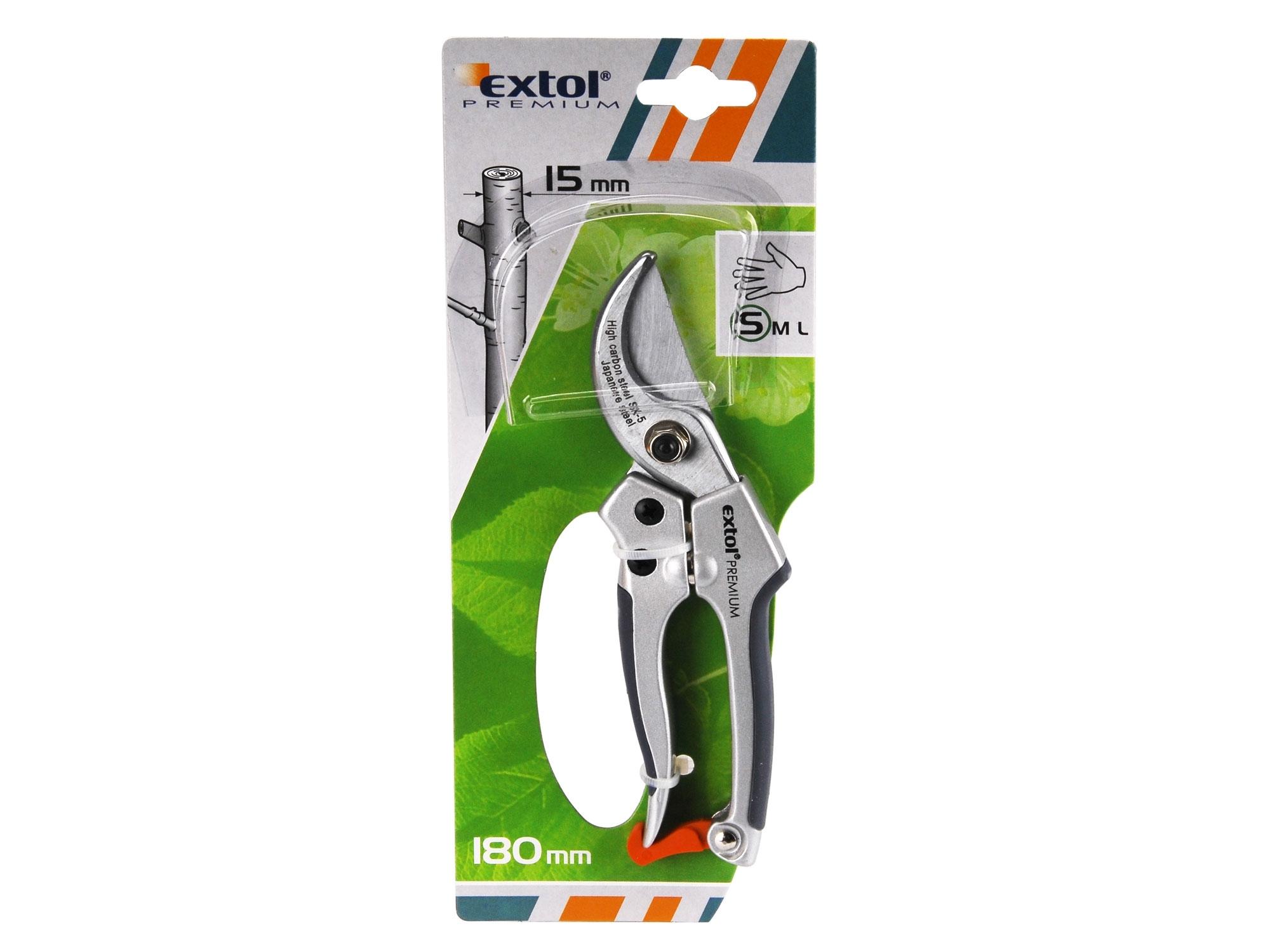 Nůžky 180 zahradnické SK5 EXTOL