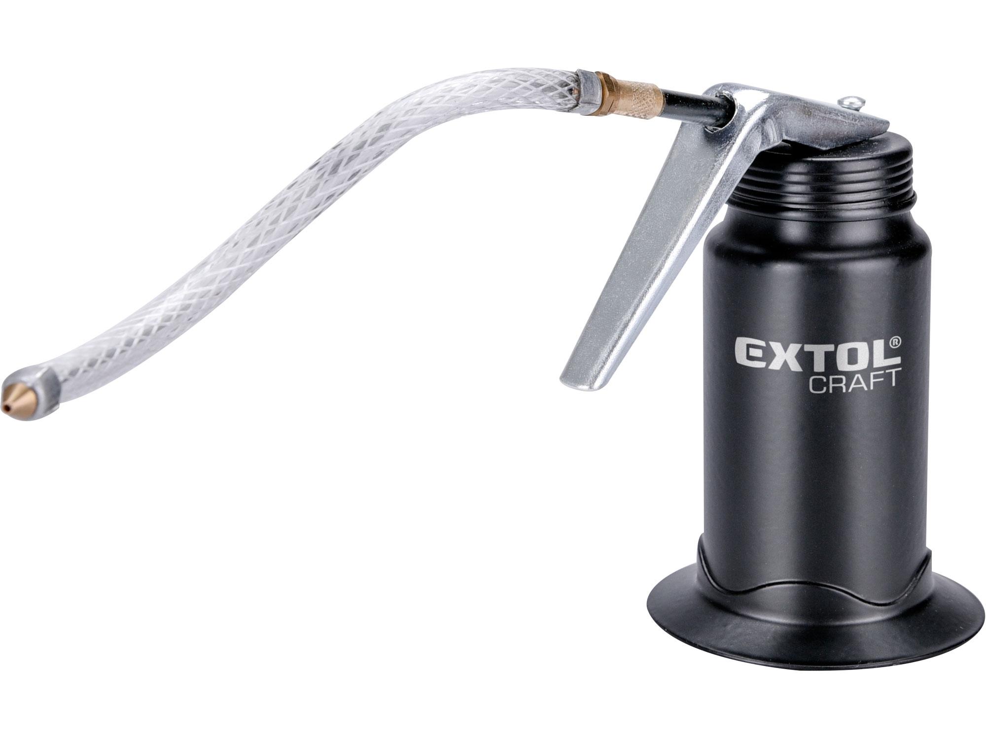 olejnička s flexibilní hadičkou, 170ml, EXTOL CRAFT 9621