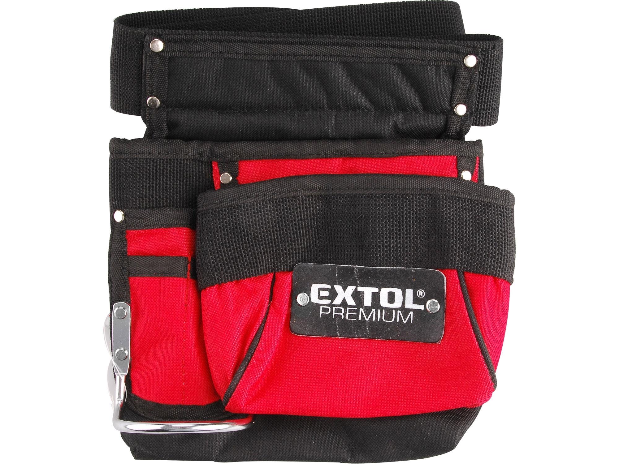 pás na nářadí, 3 kapsy, nylon, EXTOL PREMIUM 8858001